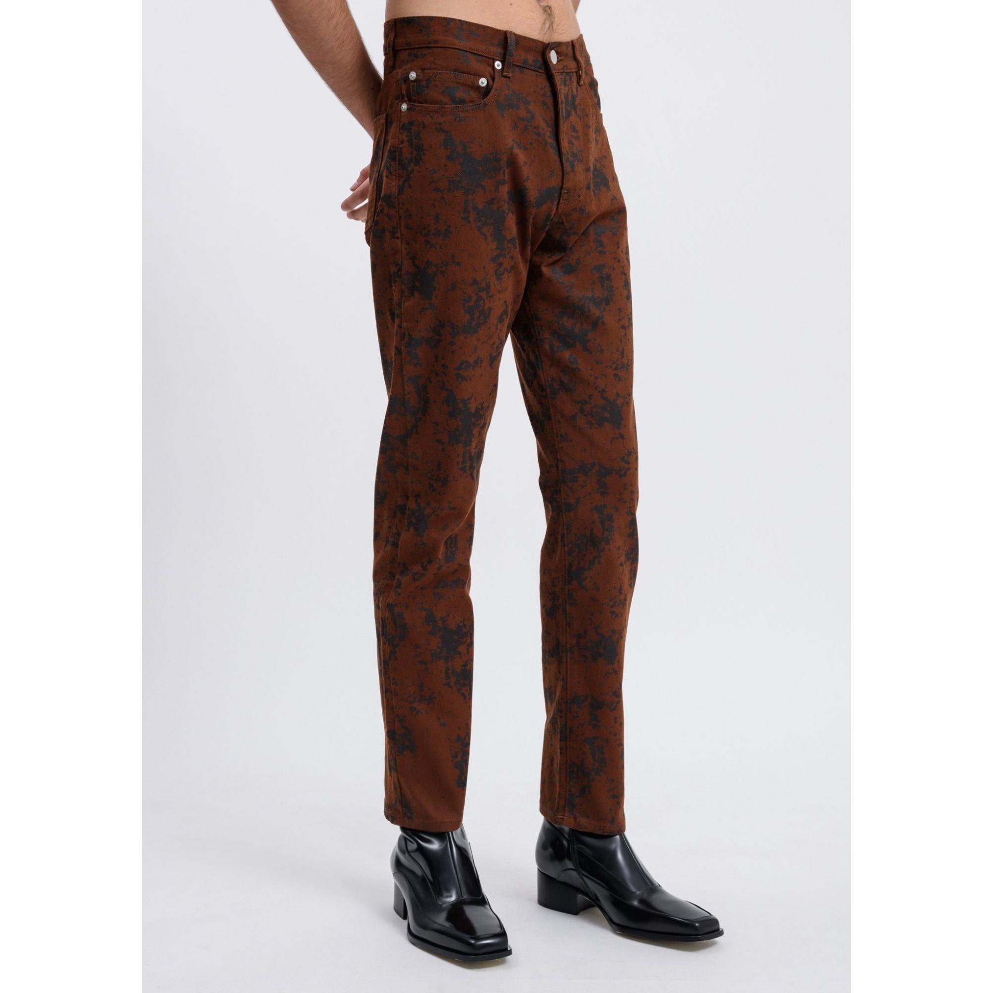 Jeans droit CMMN SWDN Doré, bronze, cuivre