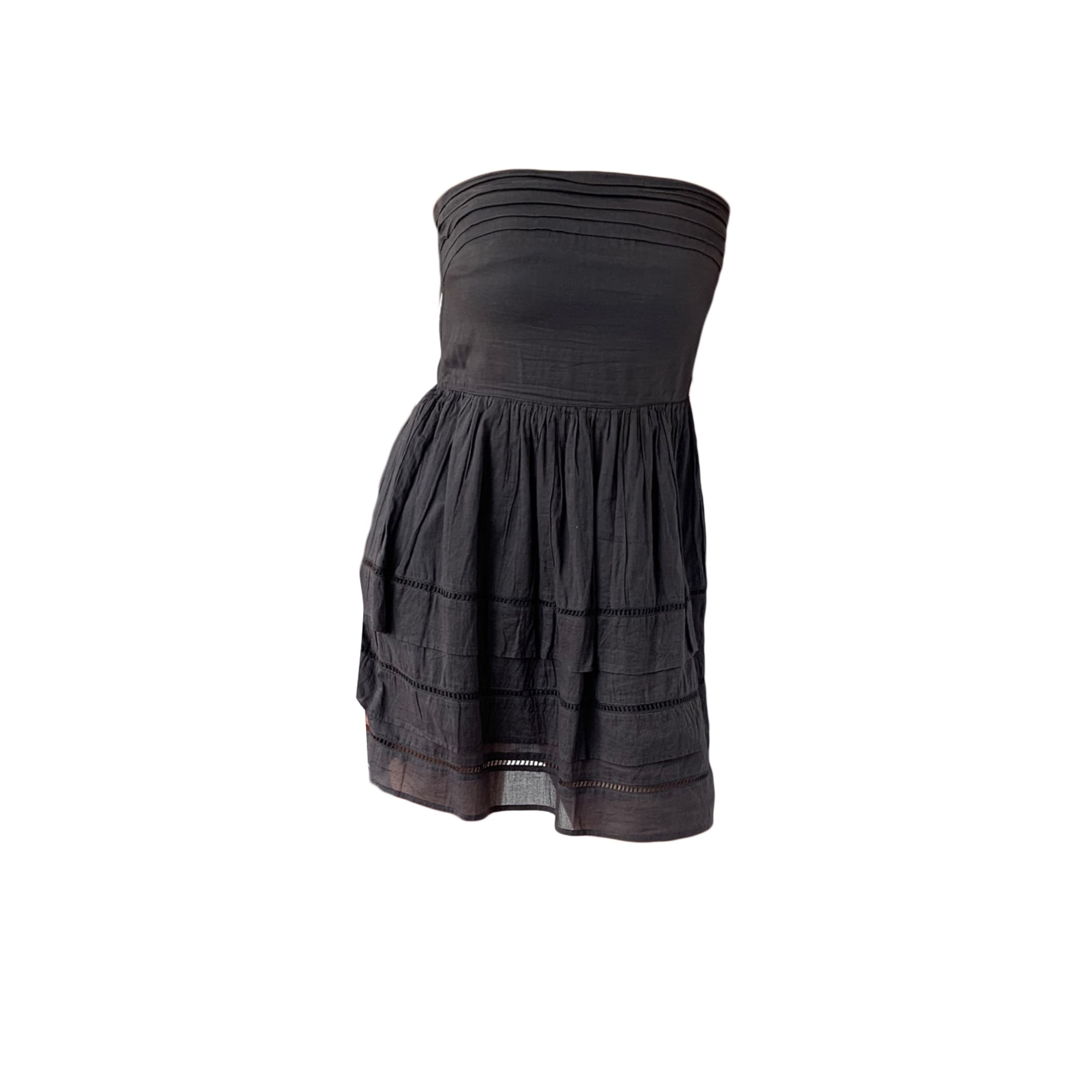 Robe bustier MAJE Gris, anthracite