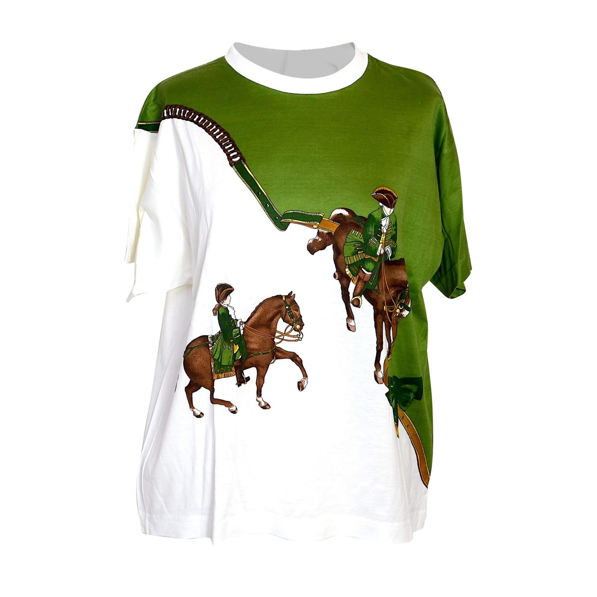 Tee-shirt HERMÈS Multicouleur