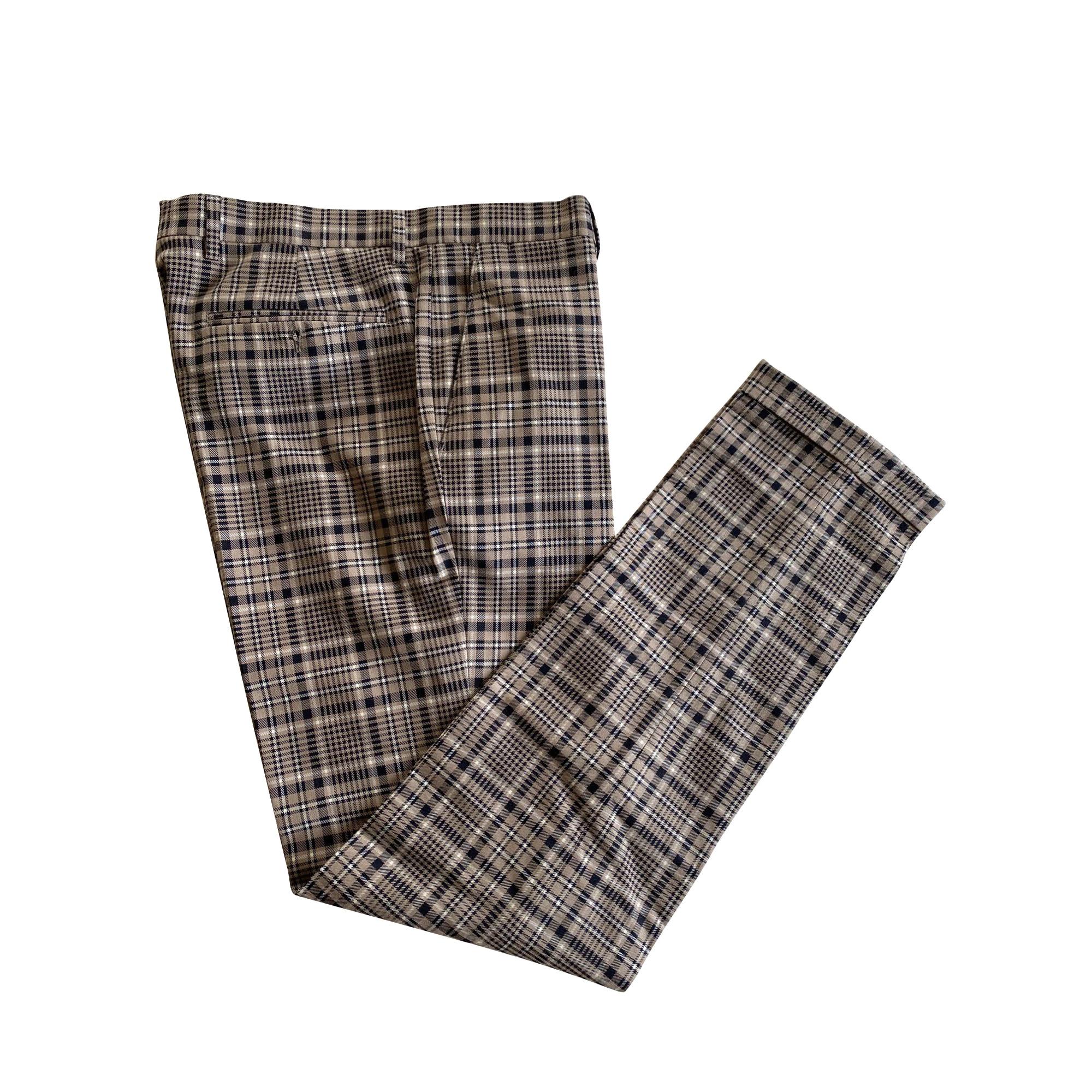Pantalon droit ETRO Beige, camel