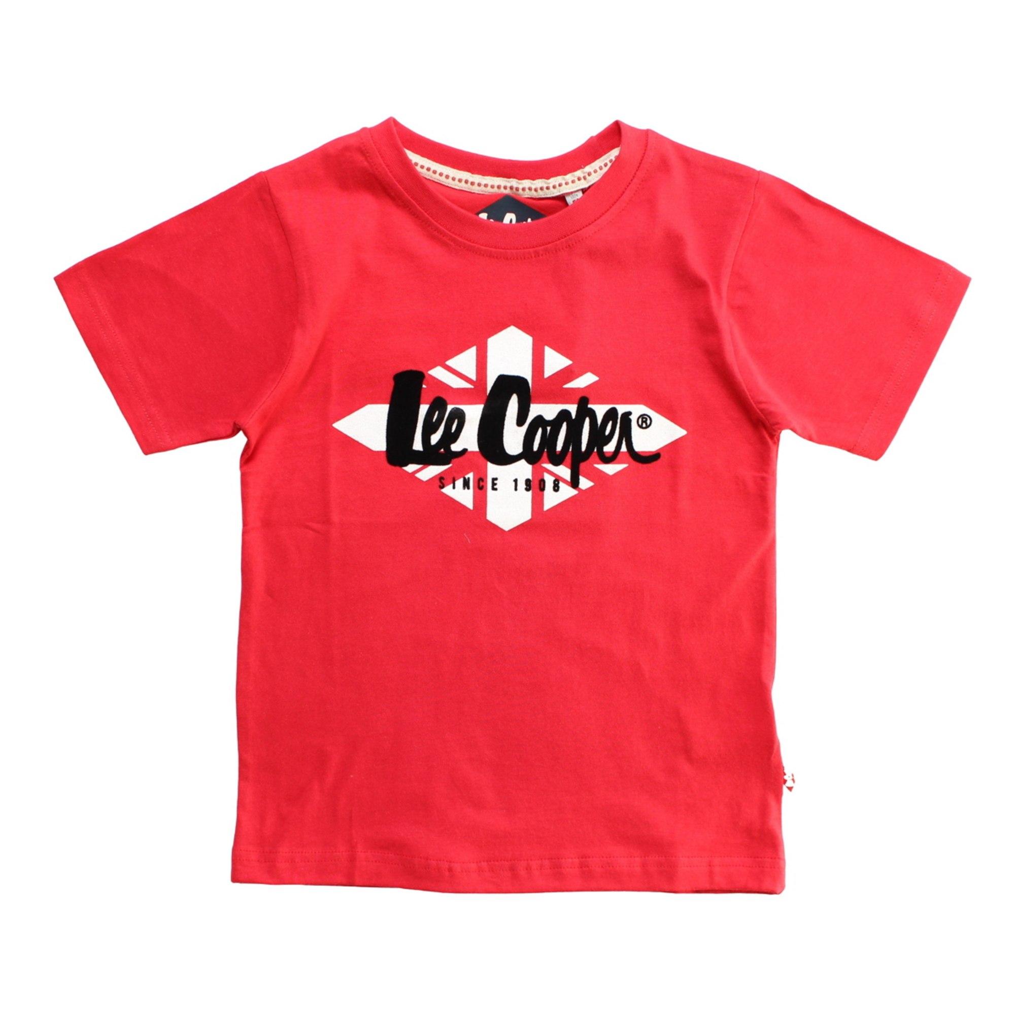 Tee-shirt LEE COOPER Rouge, bordeaux