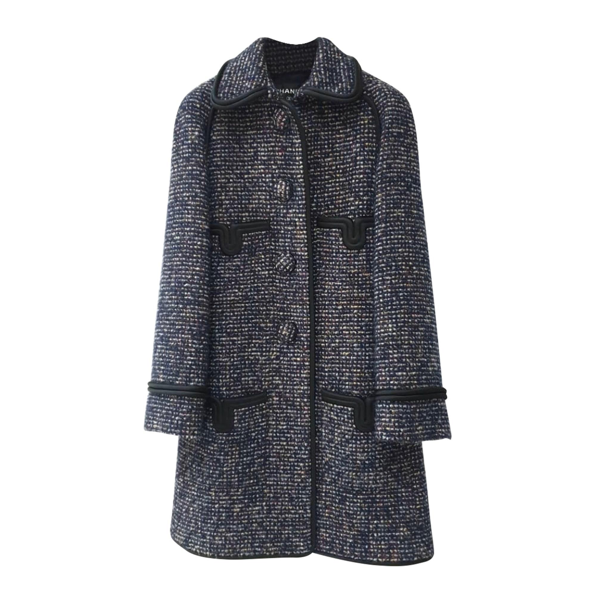 Manteau CHANEL Multicouleur