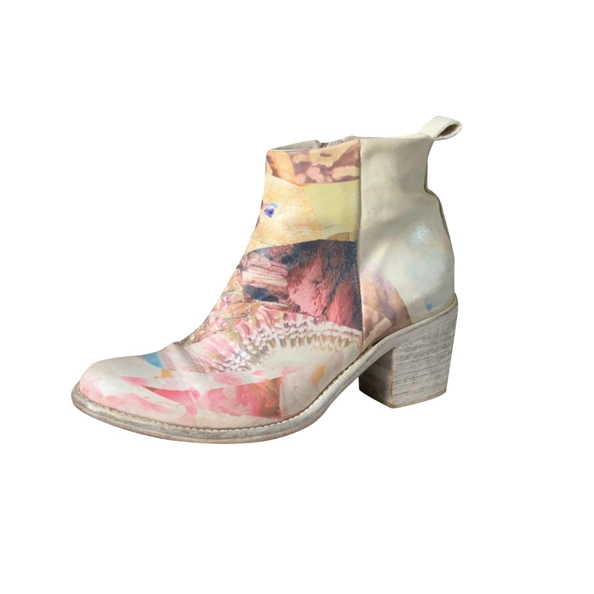Cowboy Ankle Boots DIESEL Multicolor
