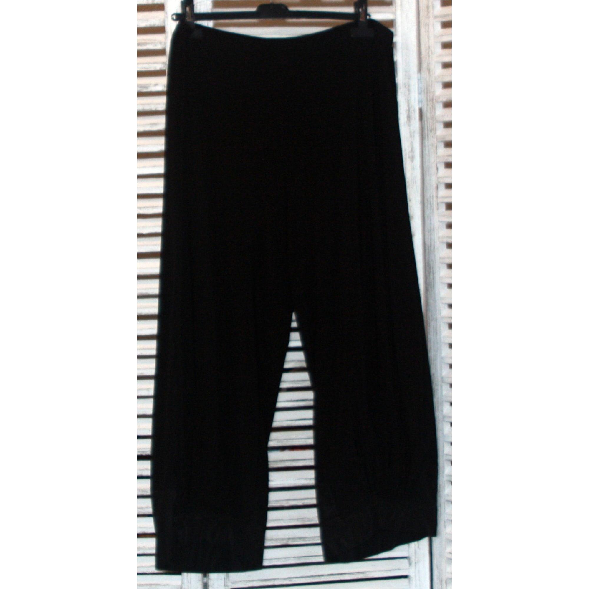 Pantalon large ALAIN WEIZ Noir