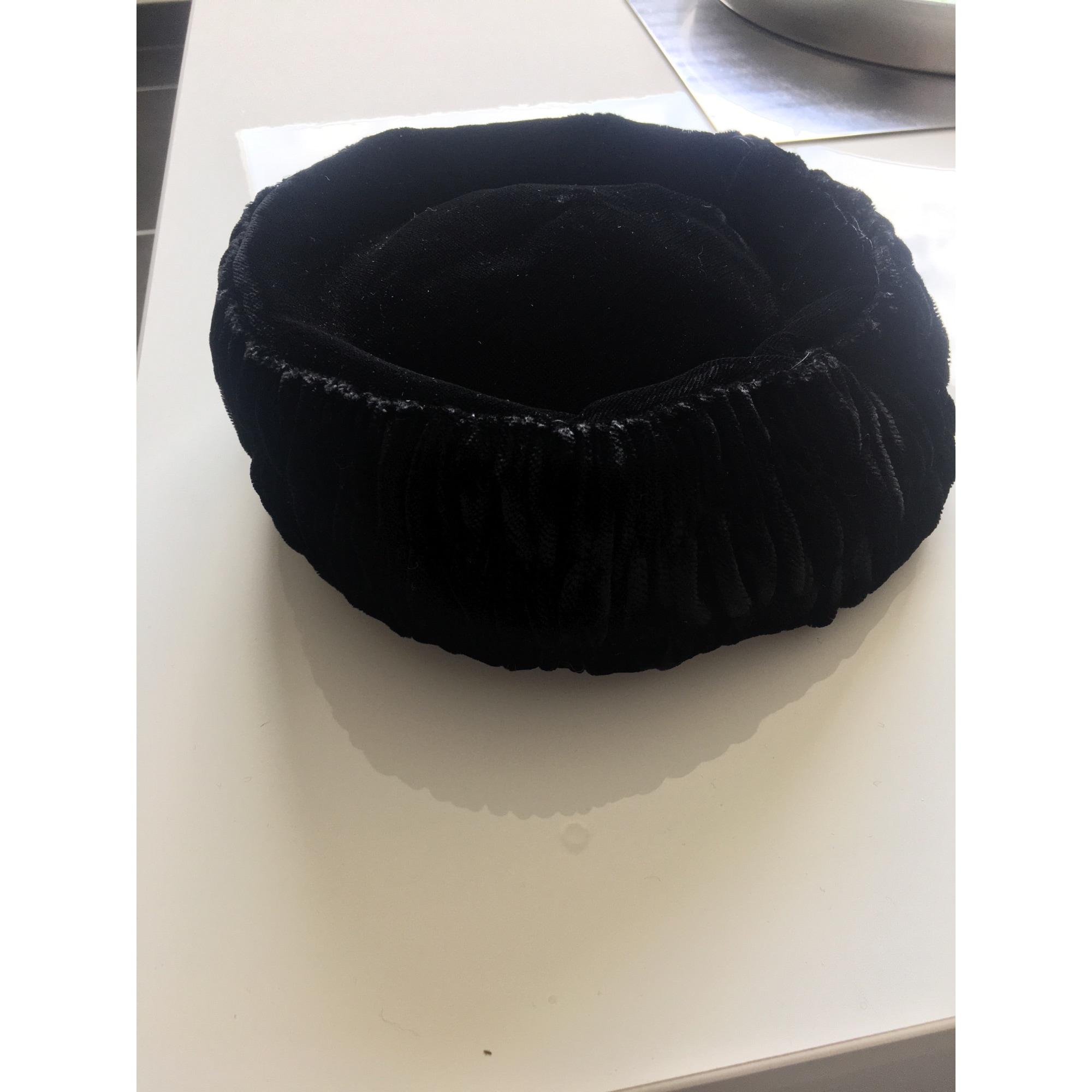 Chapeau VINTAGE Noir