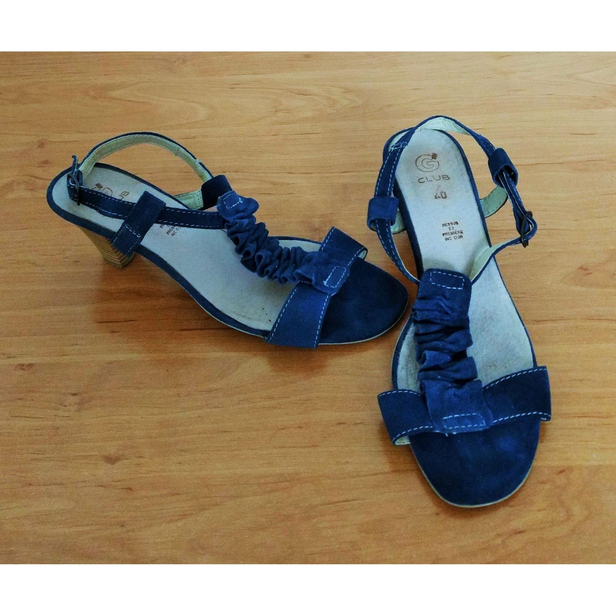 Sandales à talons GÉMO Bleu, bleu marine, bleu turquoise