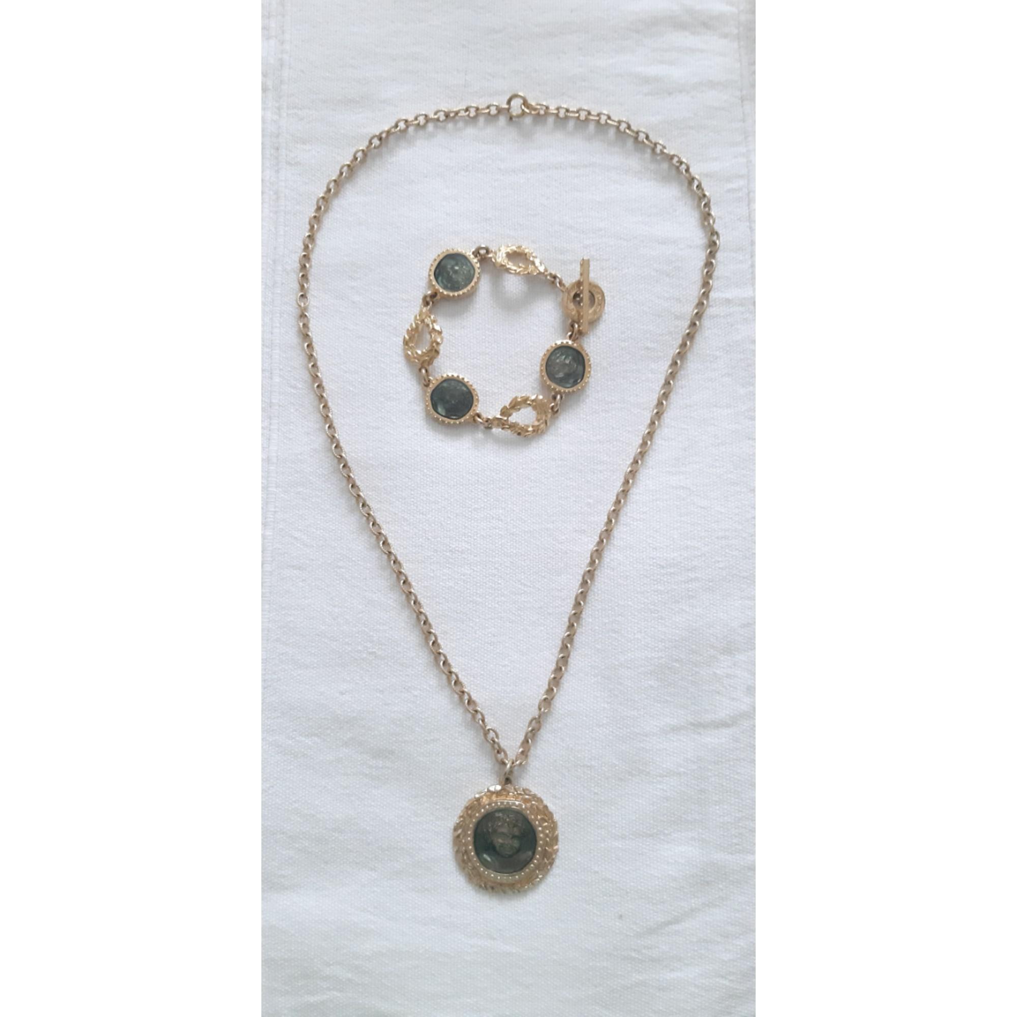 Parure bijoux JACQUES ESTEREL métal doré