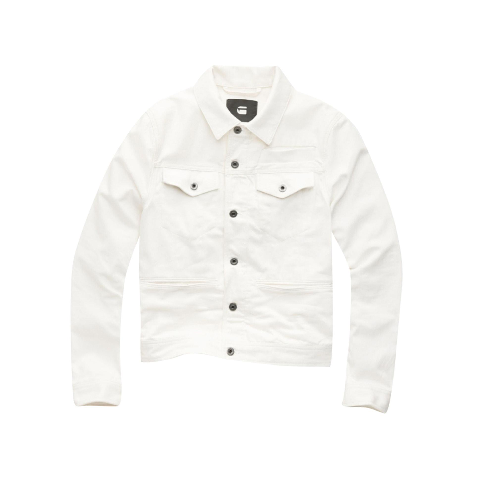 Veste G-STAR Blanc, blanc cassé, écru