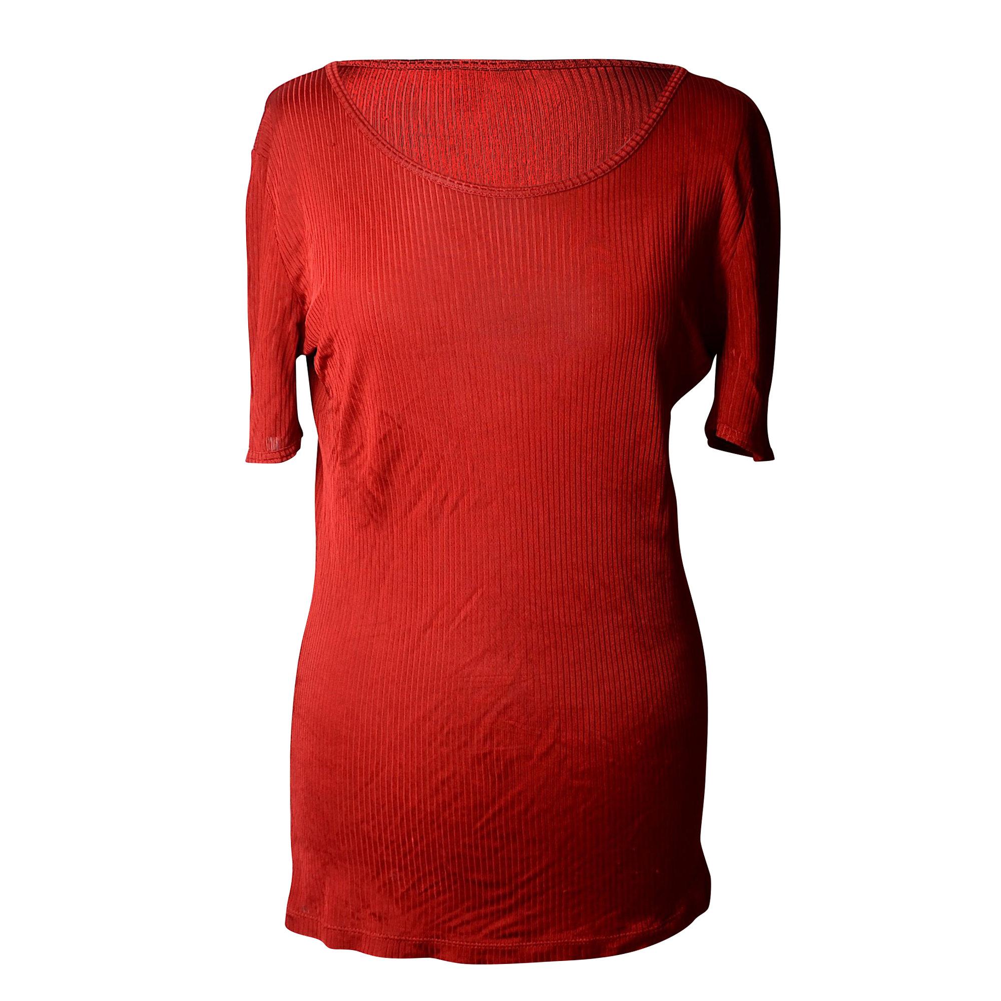 Tee-shirt LOUIS VUITTON Rouge, bordeaux