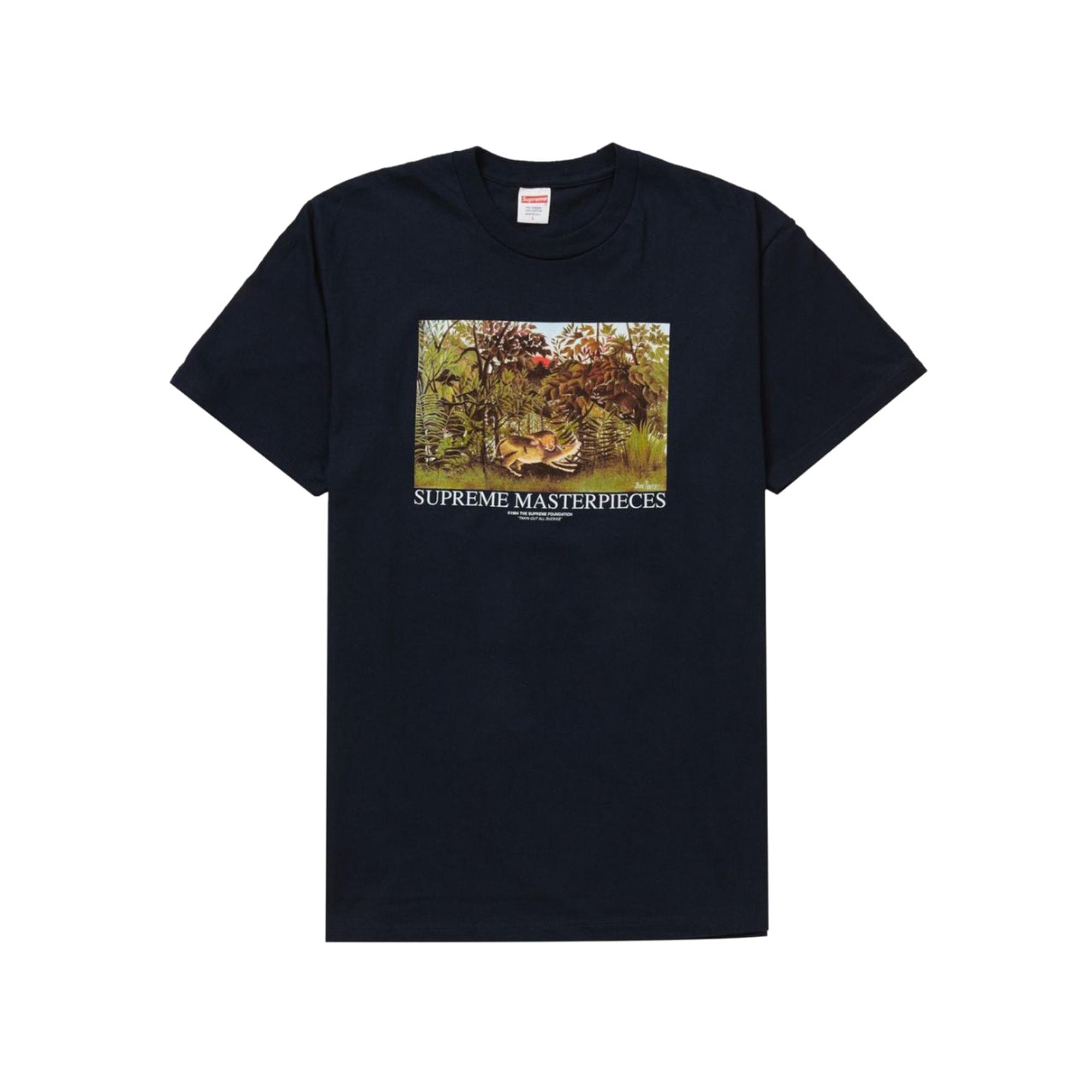 Tee-shirt SUPREME Bleu, bleu marine, bleu turquoise