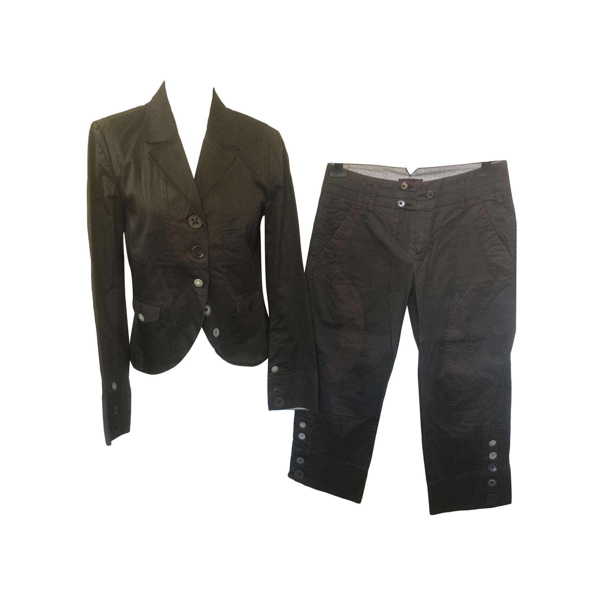 Tailleur pantalon ONE STEP Marron