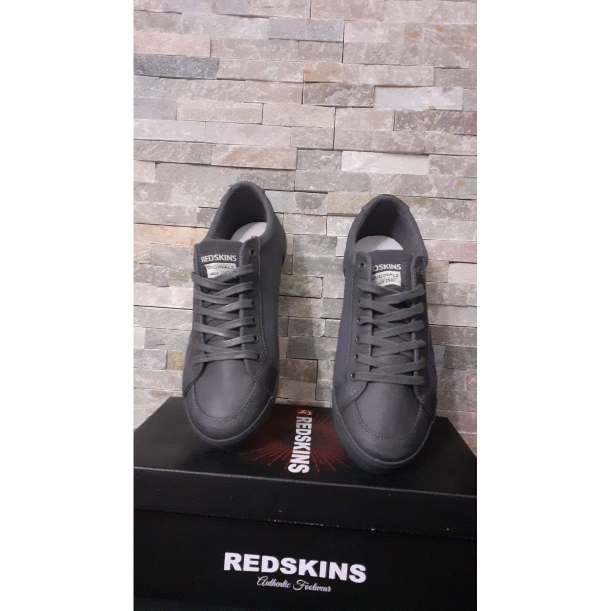 Baskets REDSKINS Gris, anthracite