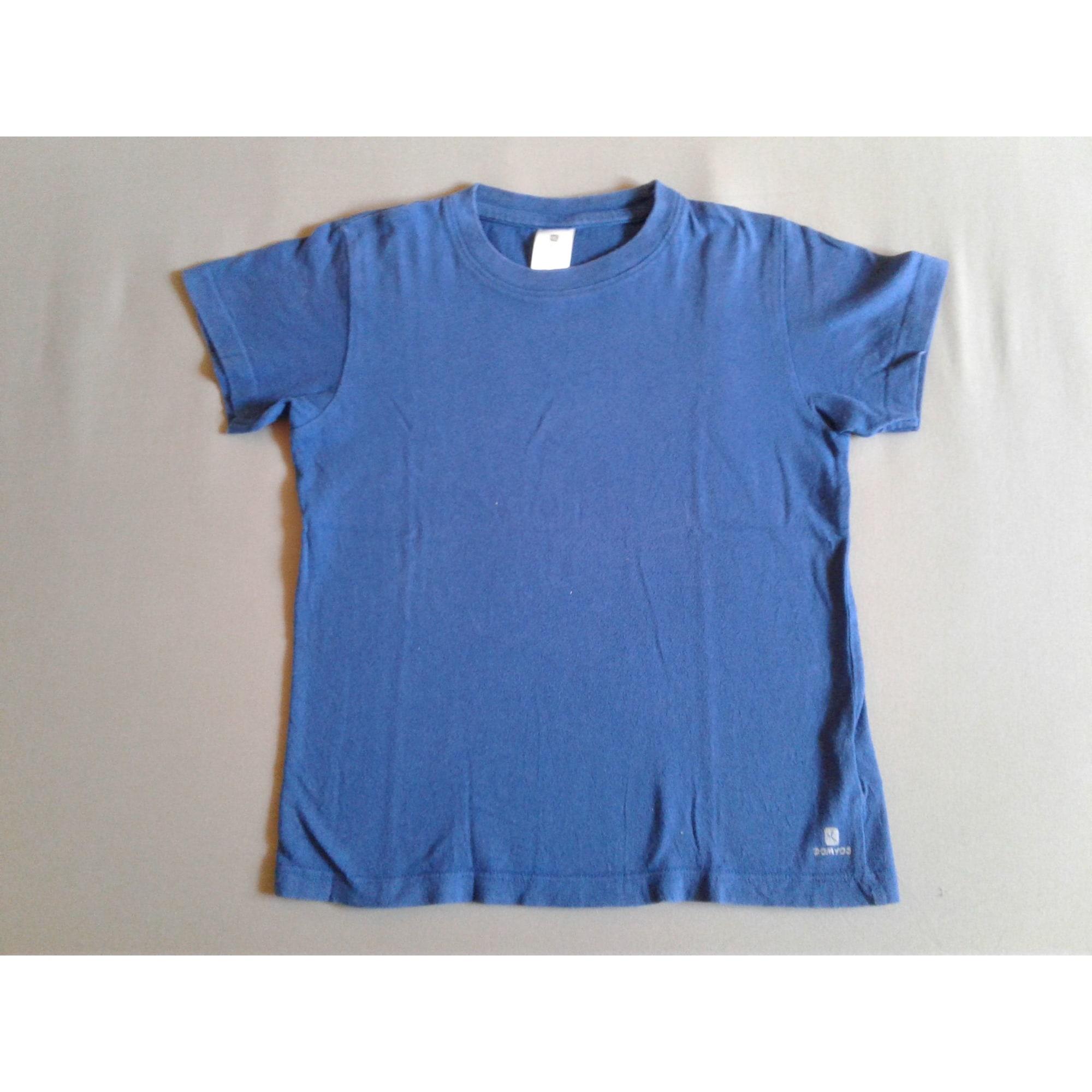 Tee-shirt DOMYOS Bleu, bleu marine, bleu turquoise