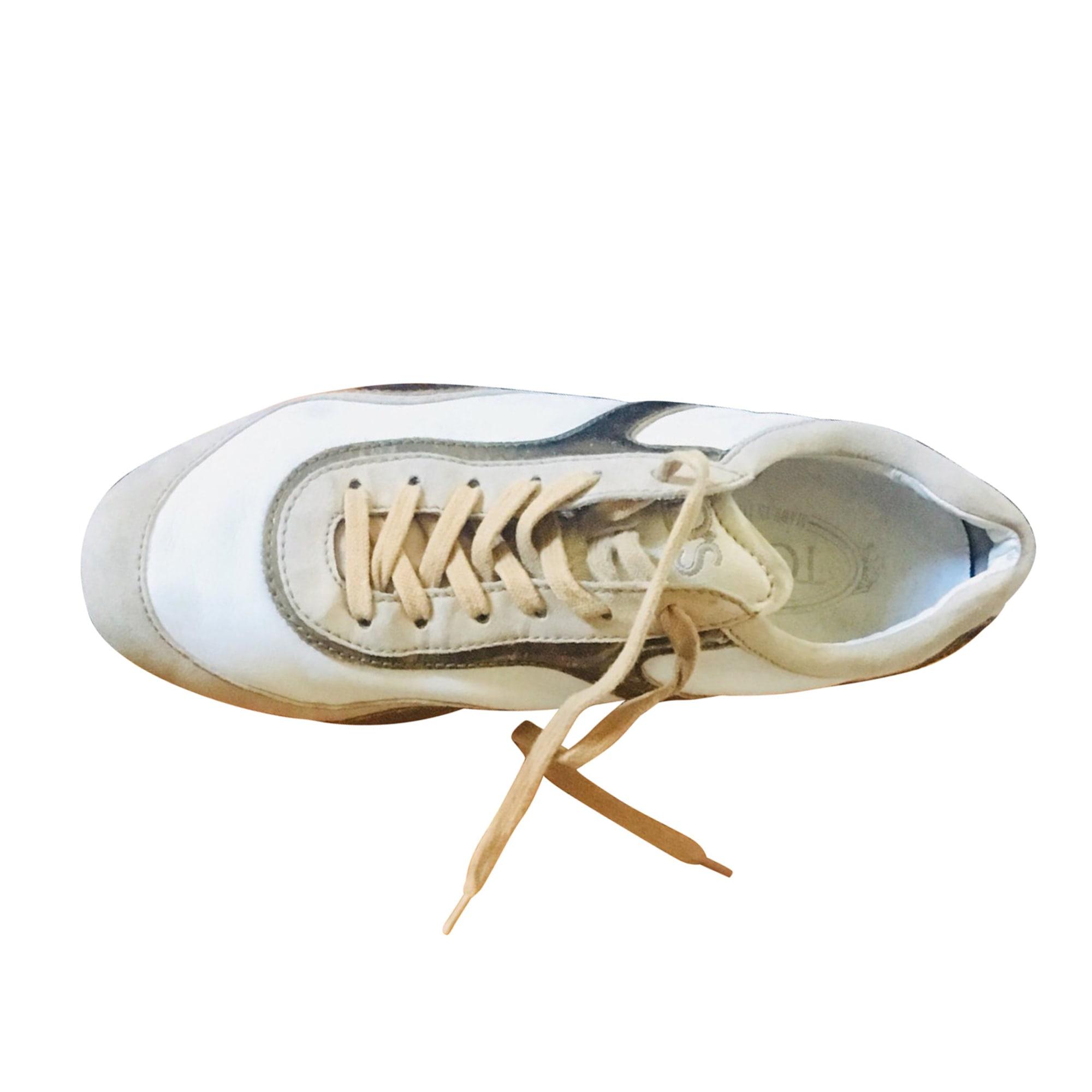 Chaussures de sport TOD'S Doré, bronze, cuivre