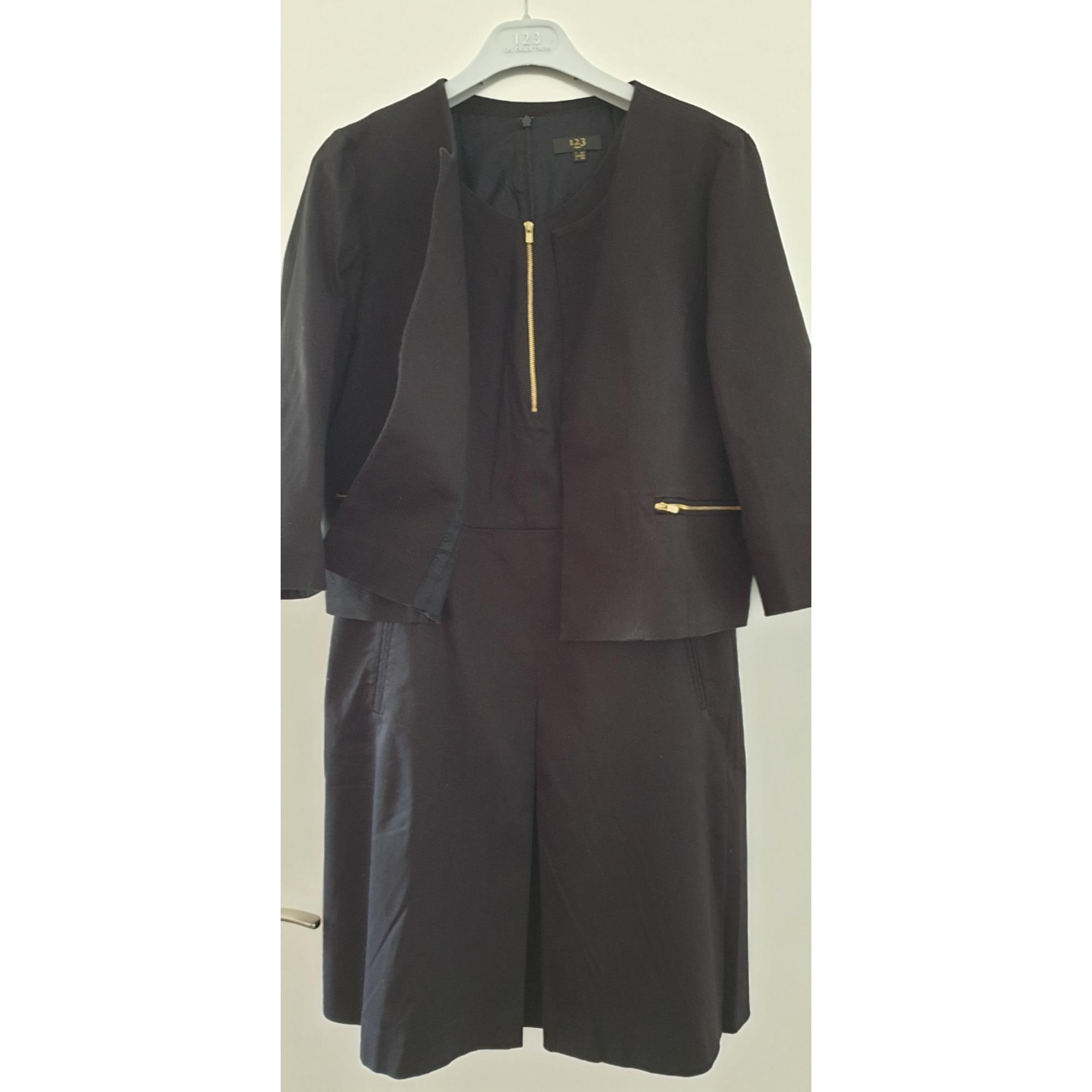 Tailleur robe 1.2.3 Noir
