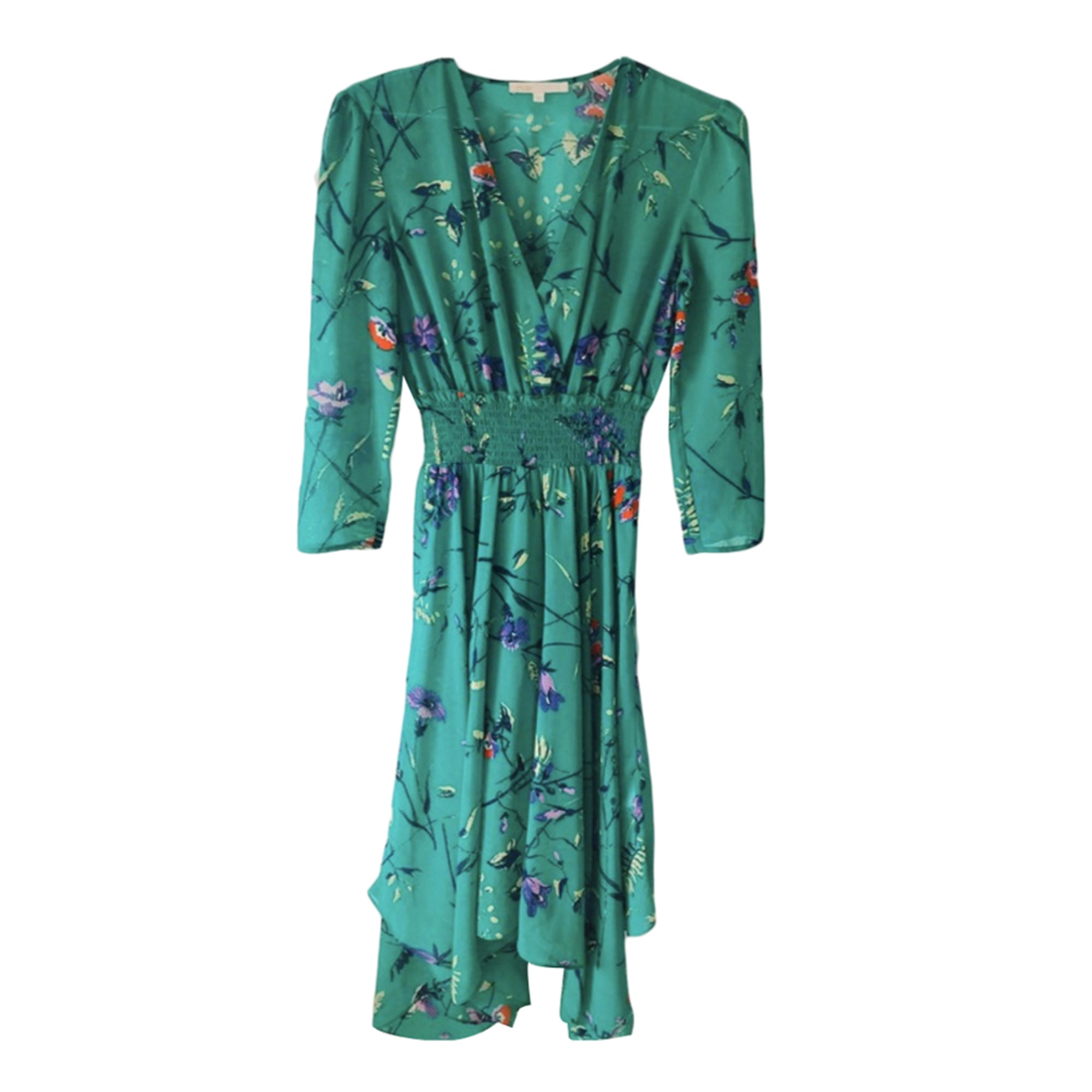 Robe longue MAJE Vert