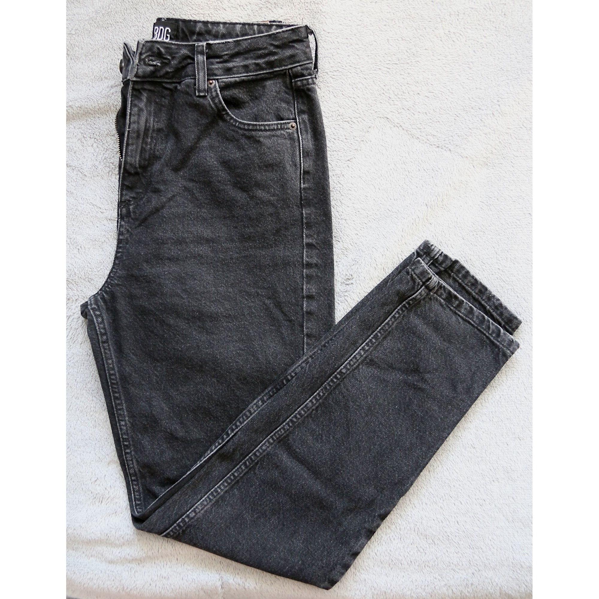Jeans droit URBAN OUTFITTERS Noir
