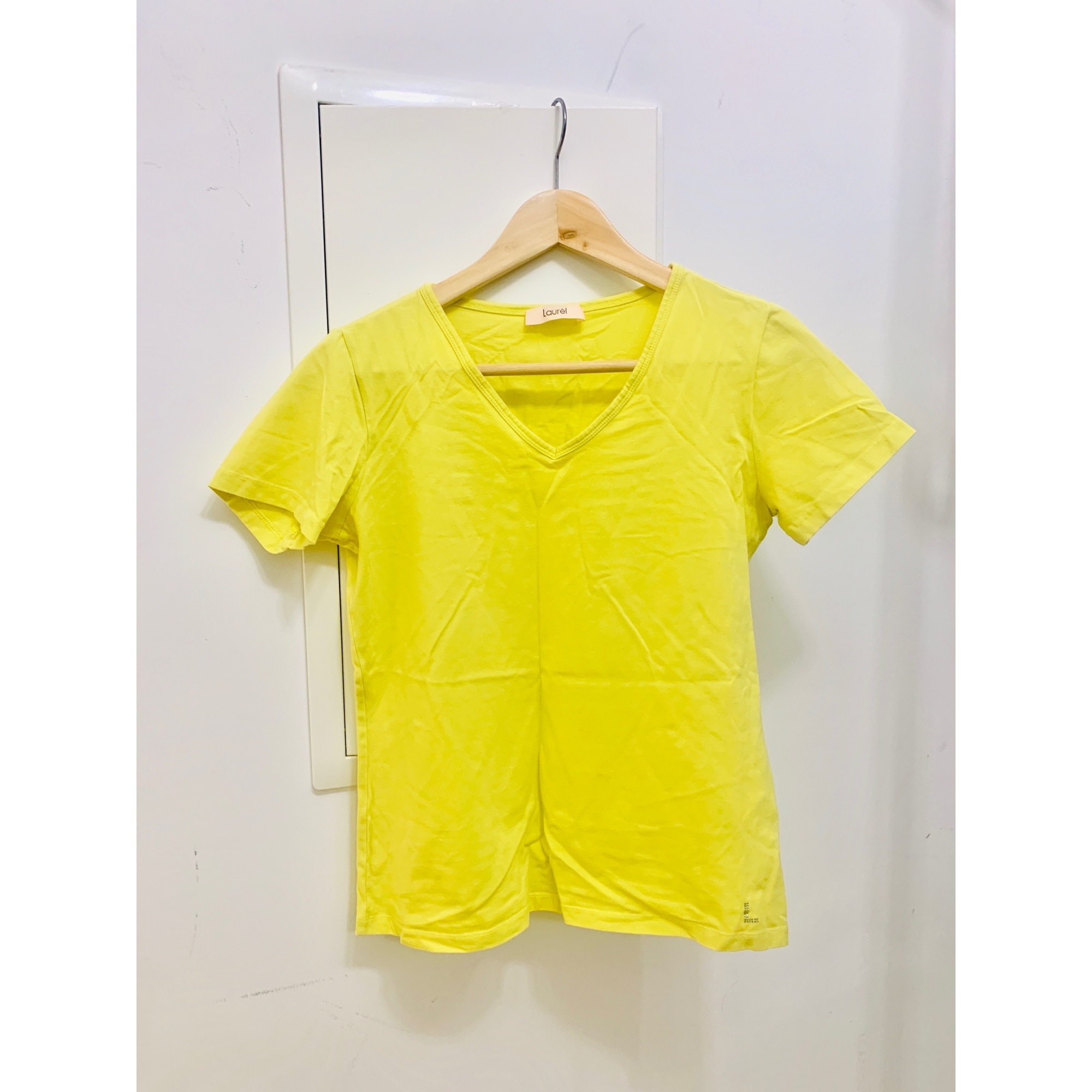 Top, tee-shirt LAURÈL Jaune