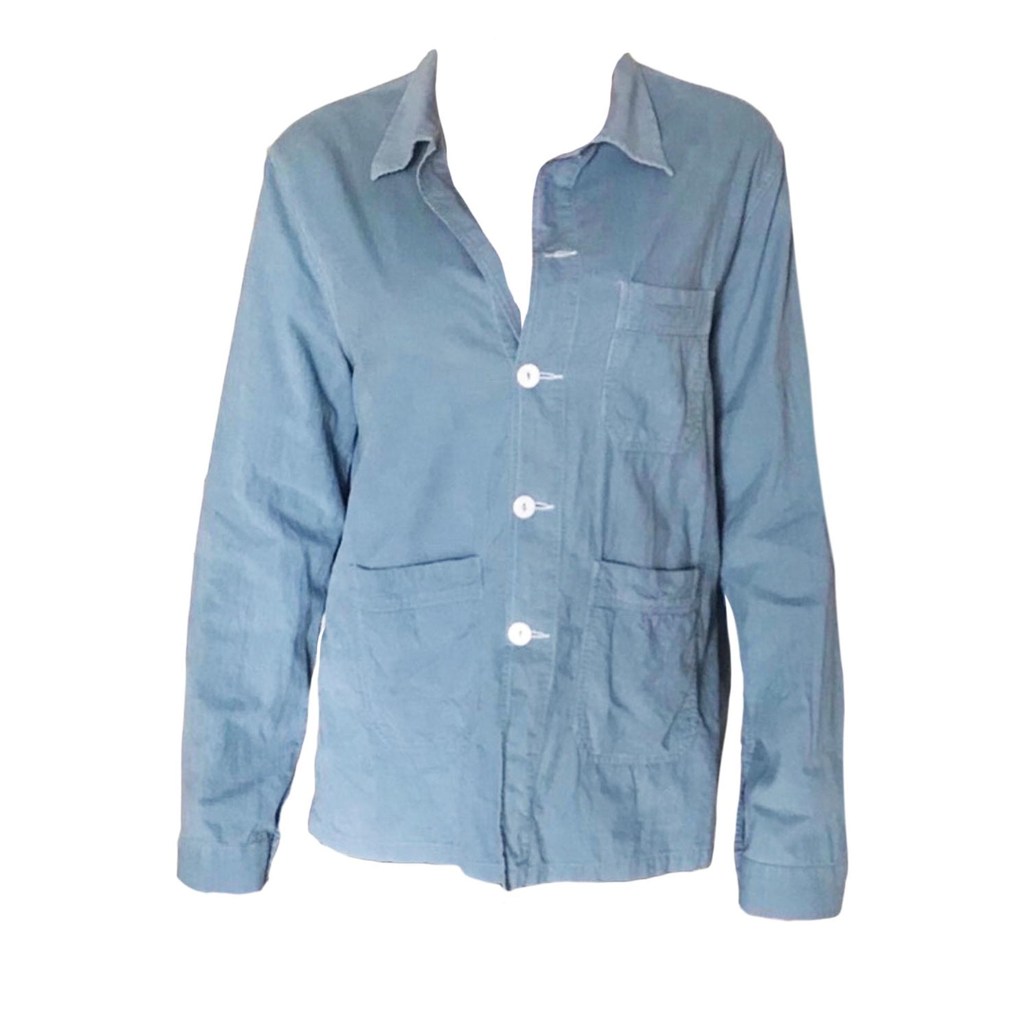 Chemise INÈS DE LA FRESSANGE Bleu, bleu marine, bleu turquoise