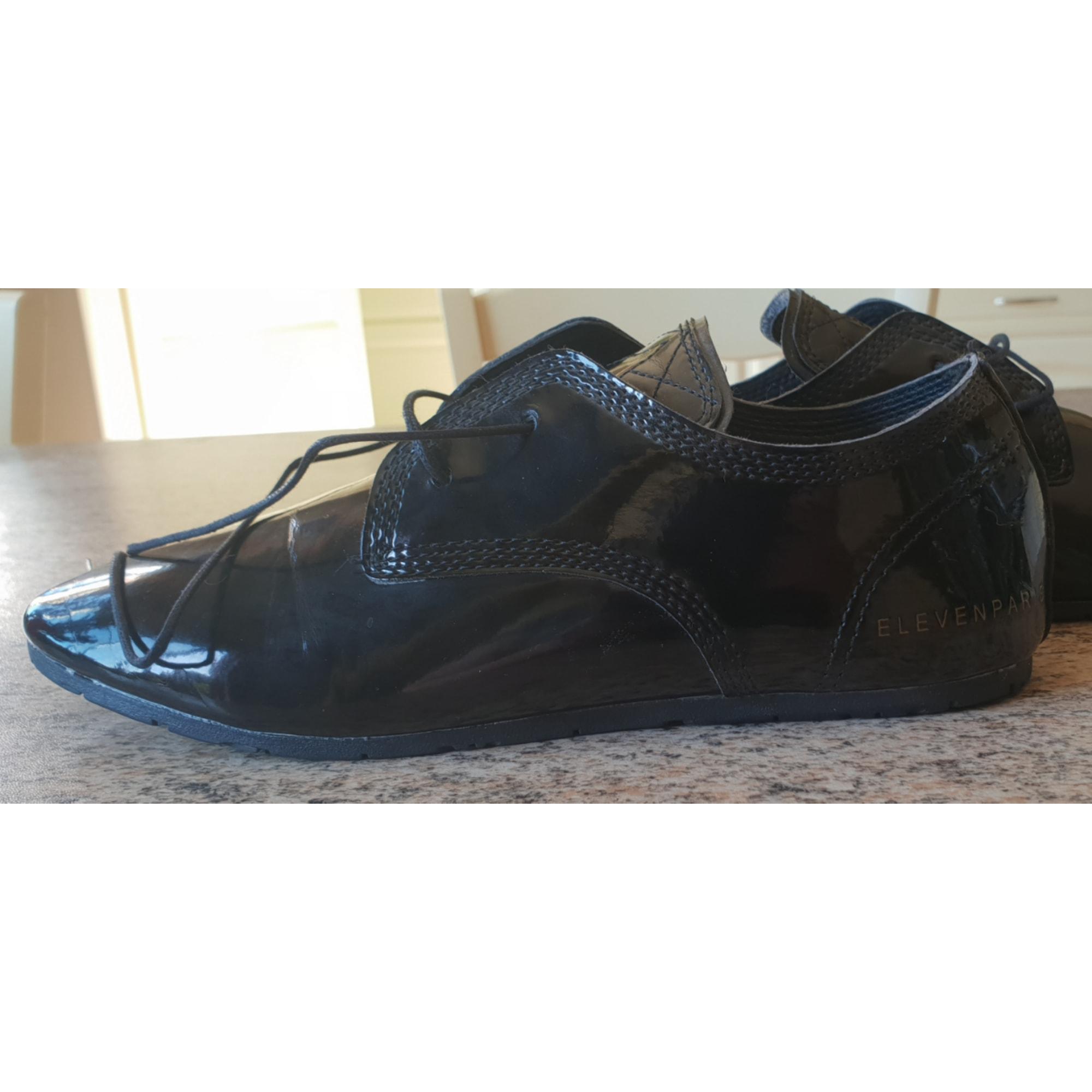 Chaussures à lacets  ELEVEN PARIS Noir