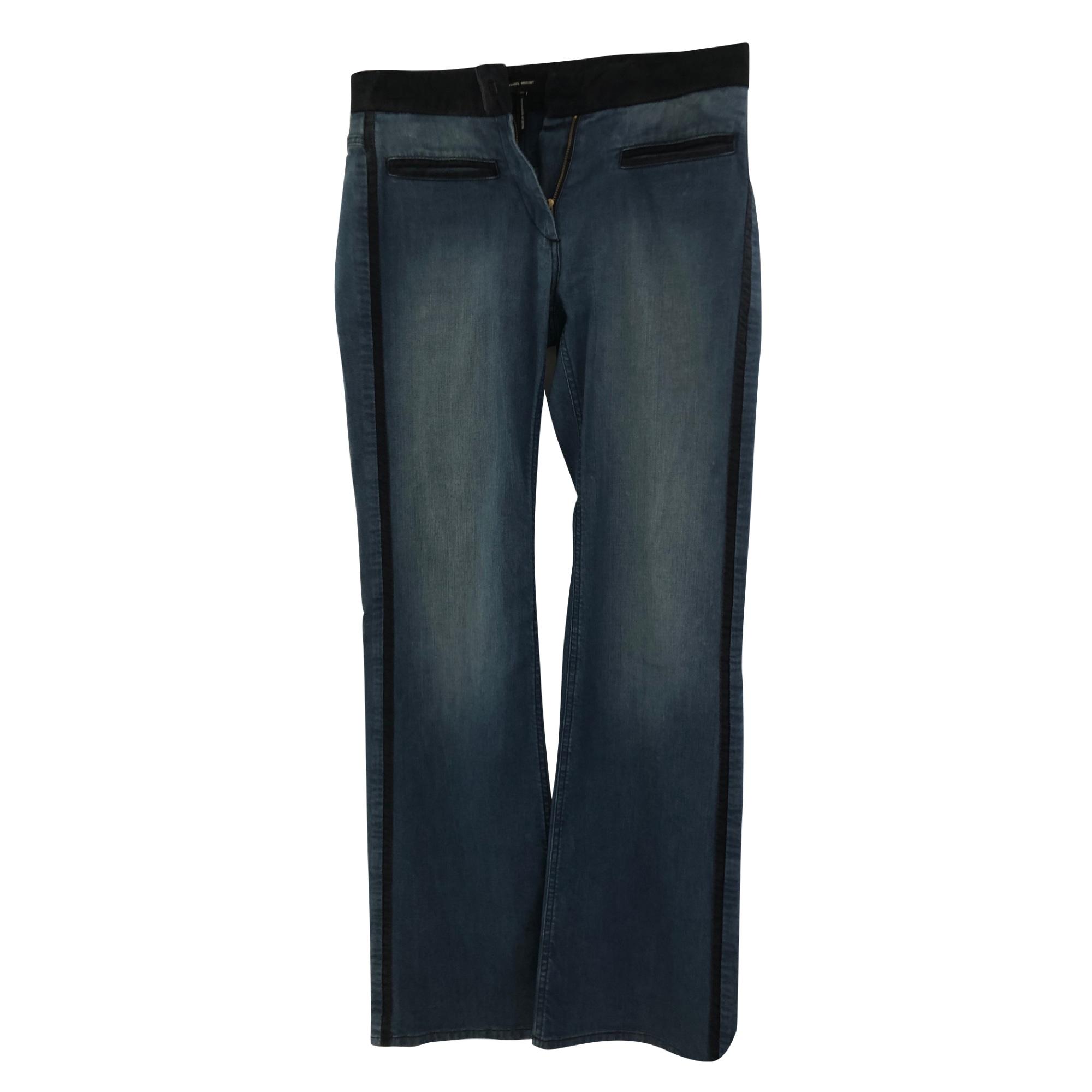 Jeans évasé, boot-cut ISABEL MARANT Bleu, bleu marine, bleu turquoise