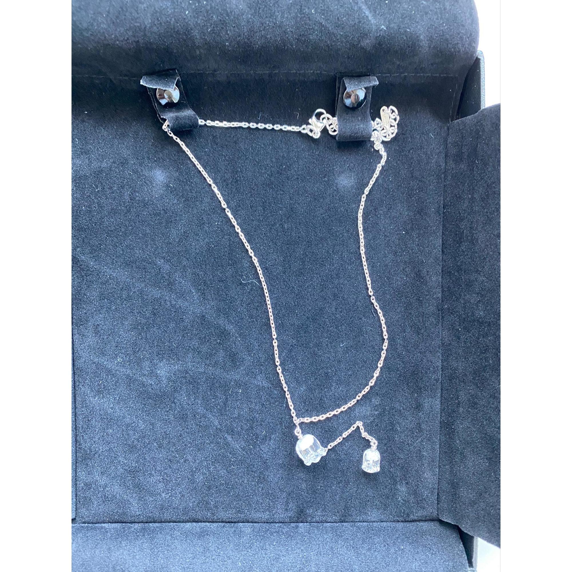 Pendentif, collier pendentif LALIQUE Blanc, blanc cassé, écru