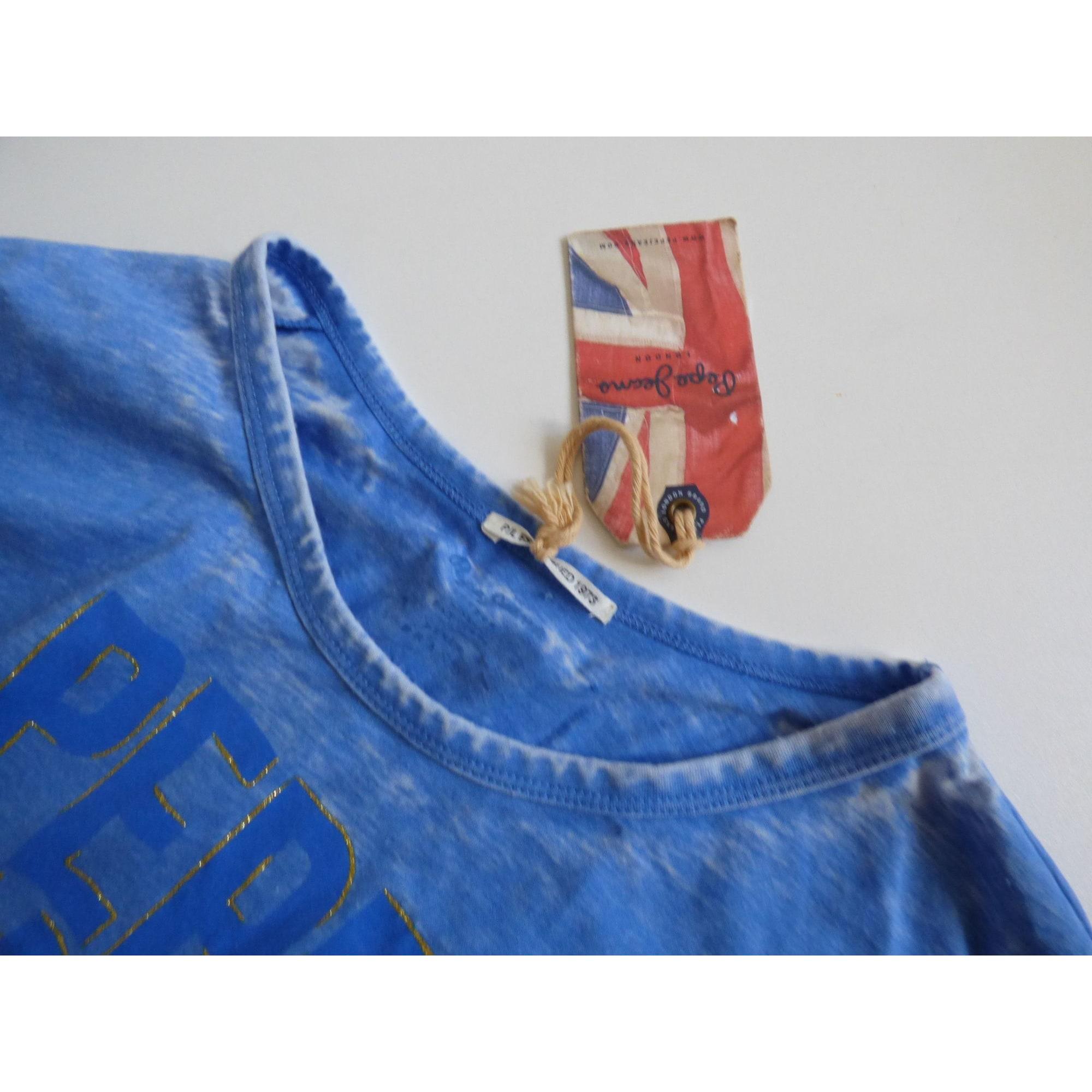 Tee-shirt PEPE JEANS Bleu, bleu marine, bleu turquoise