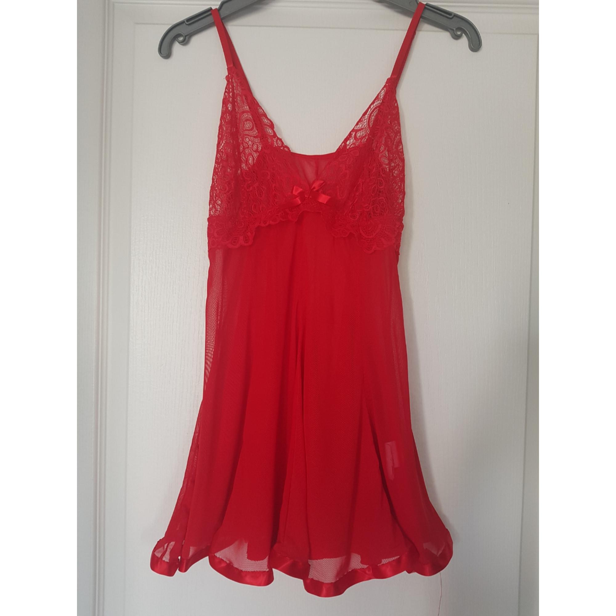 Ensemble, parure lingerie MARQUE INCONNUE Rouge, bordeaux