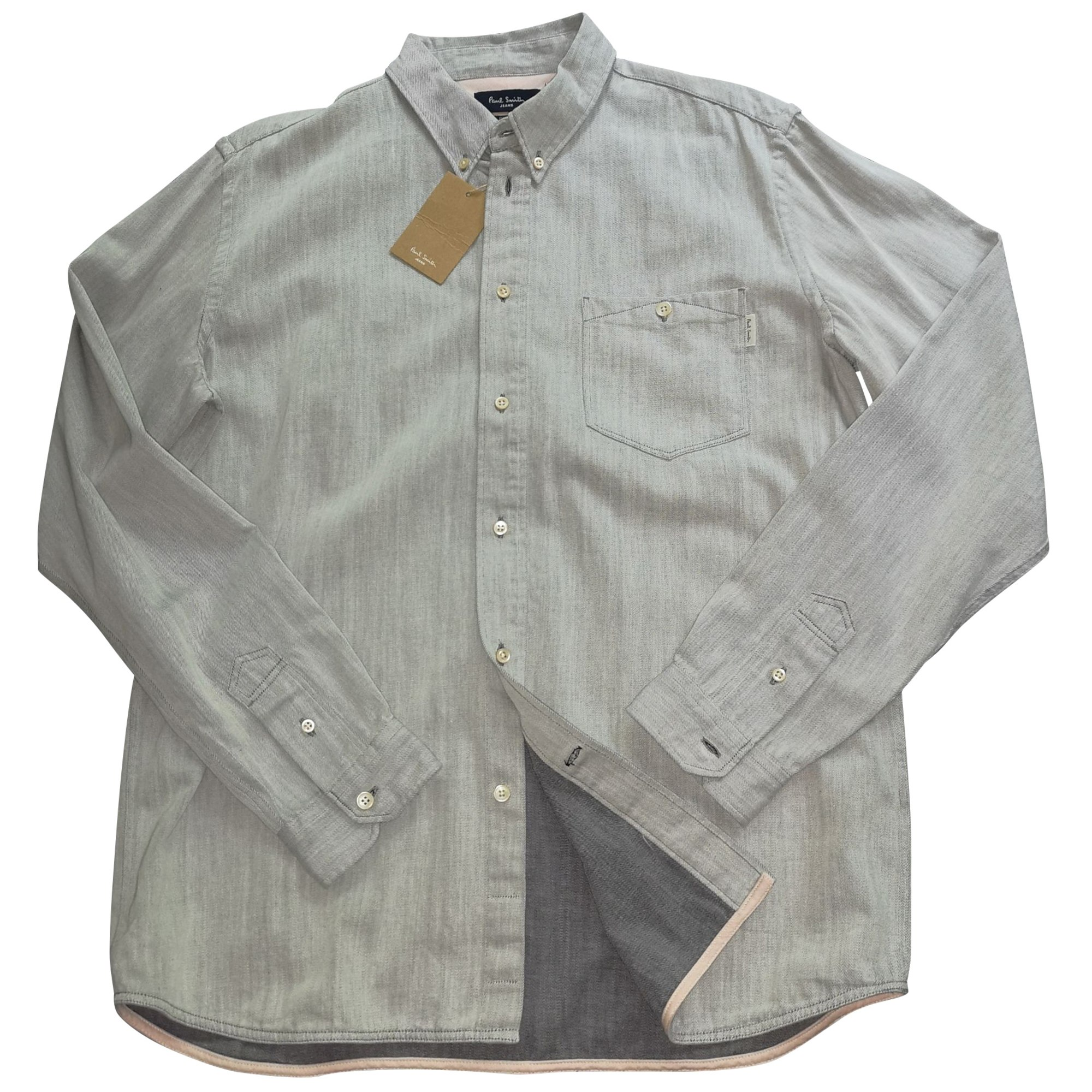 Chemise PAUL SMITH Gris, anthracite