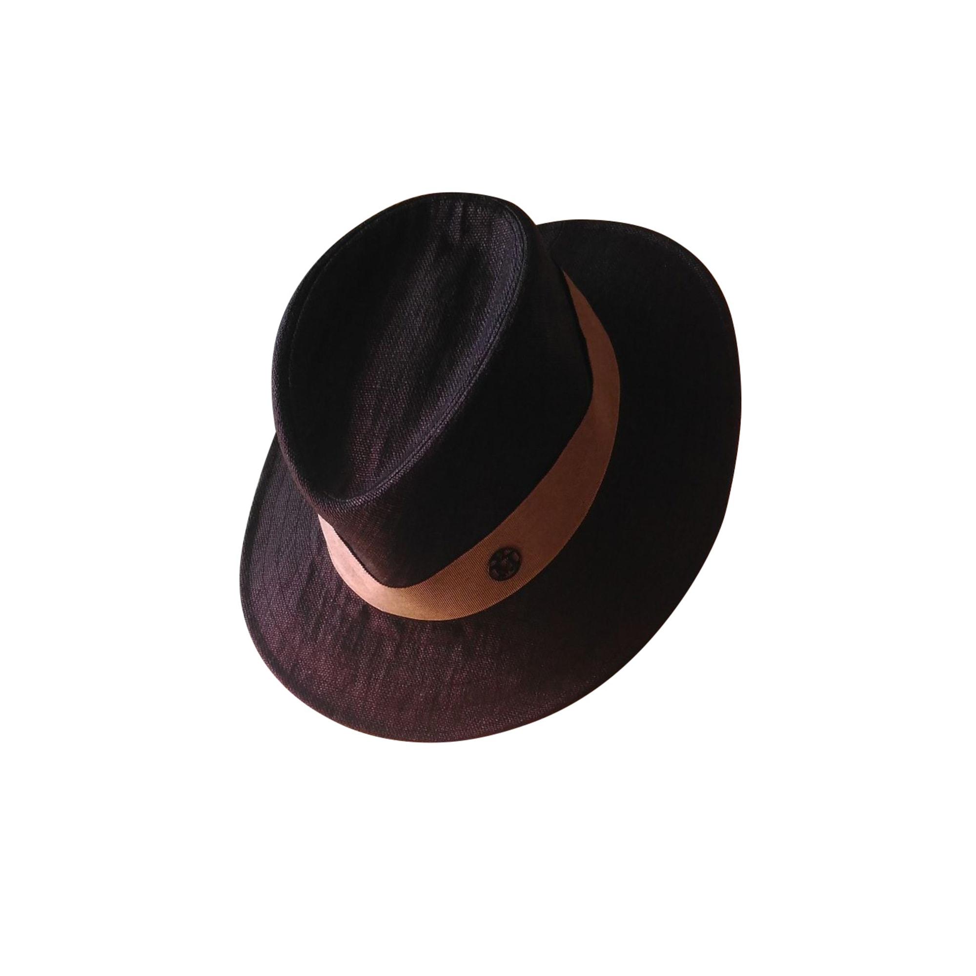 Chapeau MAISON MICHEL Gris, anthracite