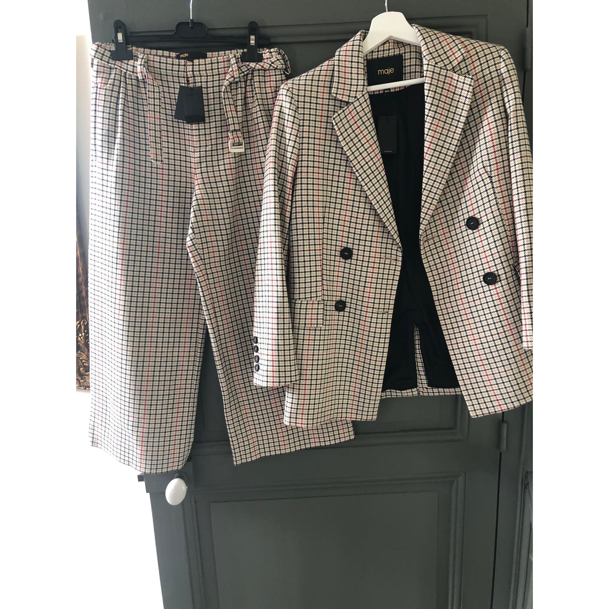 Tailleur pantalon MAJE Multicouleur