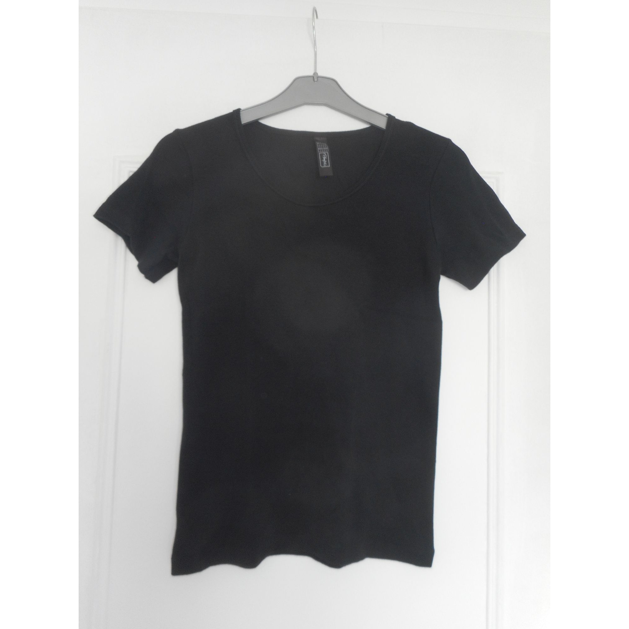 Top, tee-shirt PLAYTEX Noir