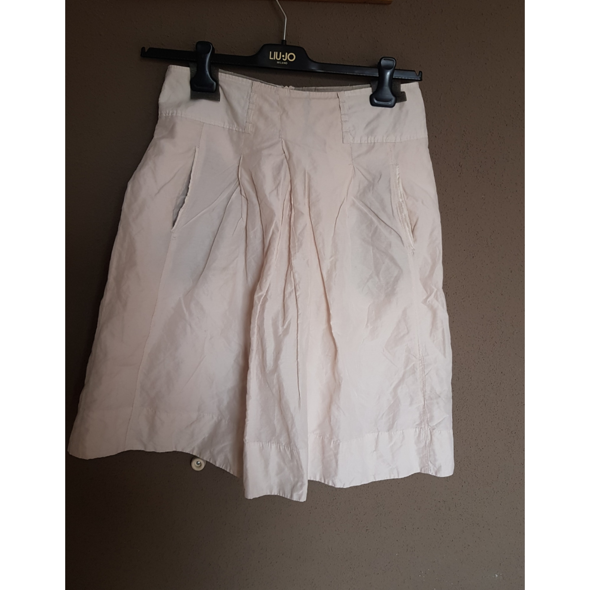 Jupe mi-longue CHATTAWAK Blanc, blanc cassé, écru
