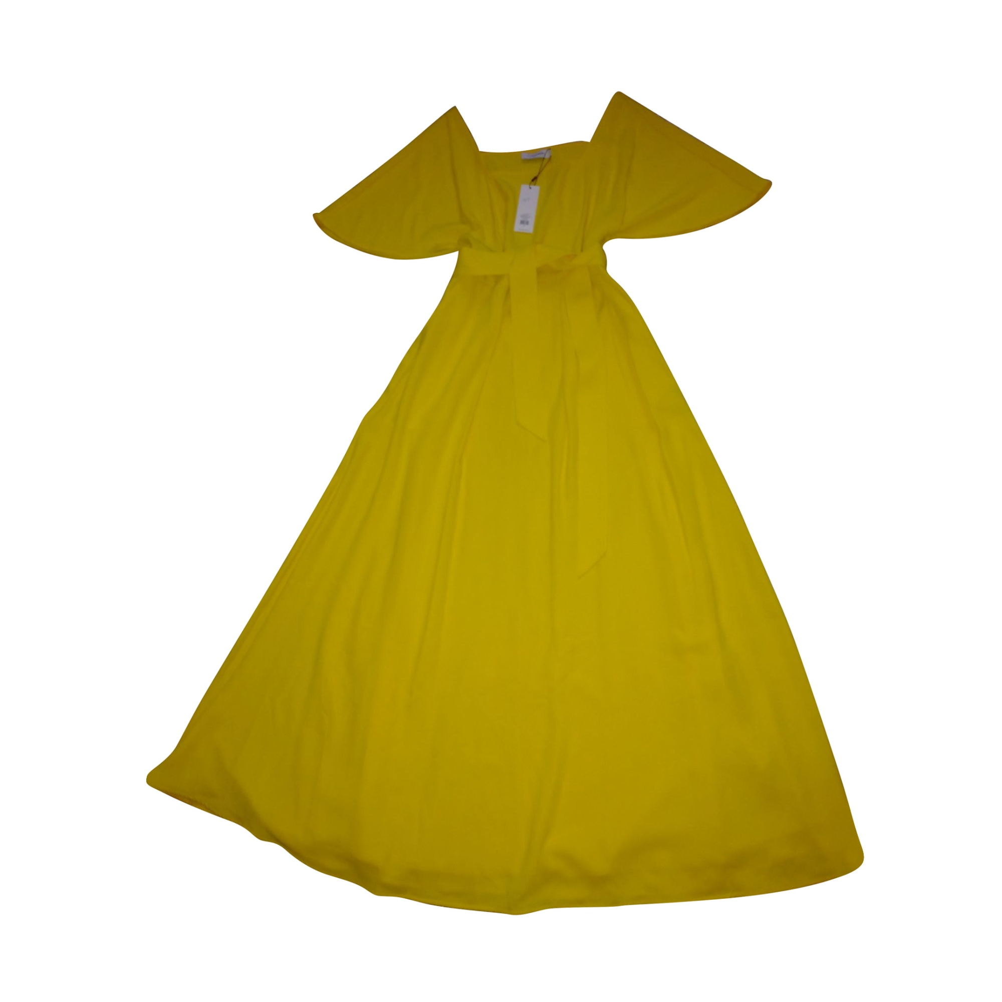 Robe longue CALVIN KLEIN Jaune