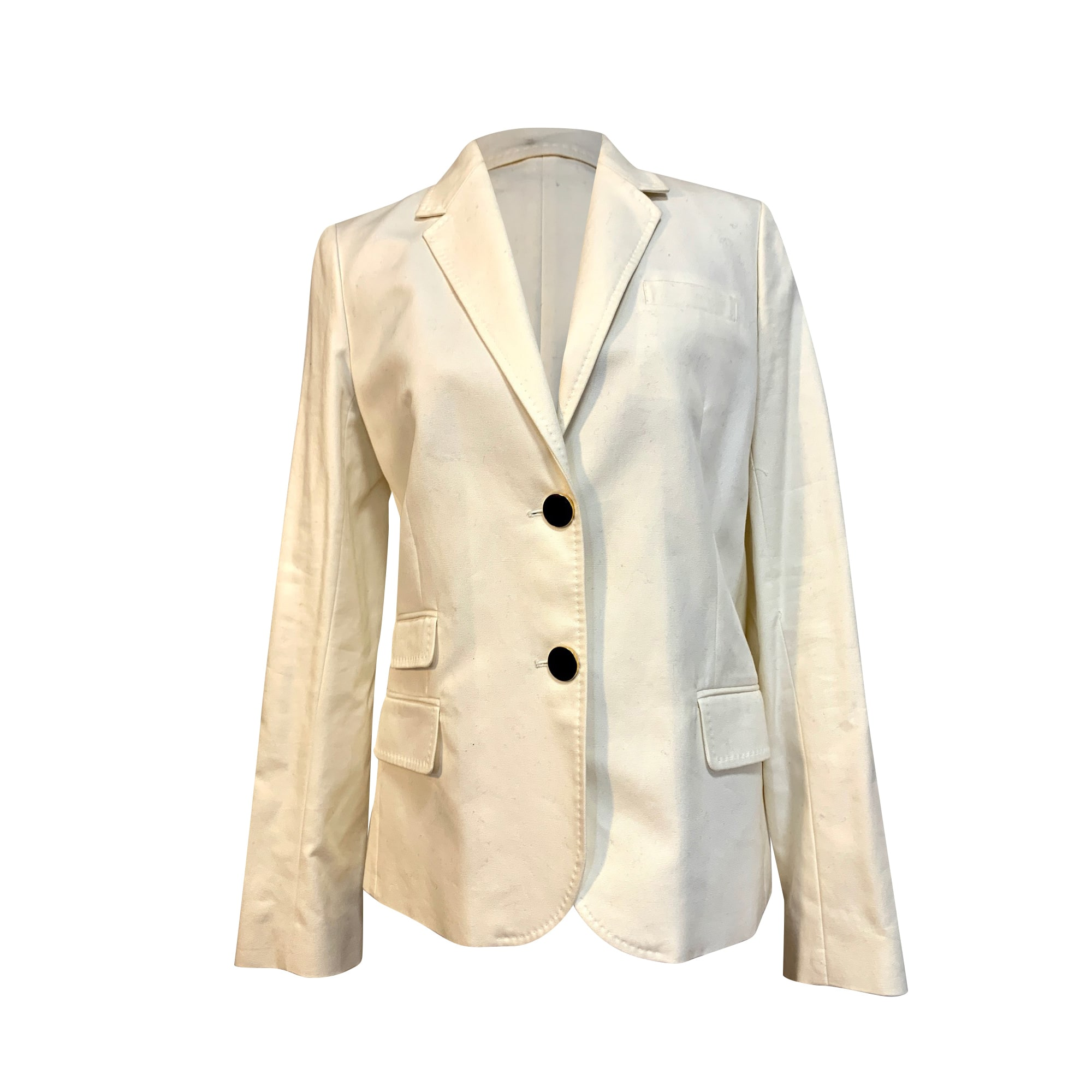 Blazer, veste tailleur VANESSA BRUNO Blanc, blanc cassé, écru