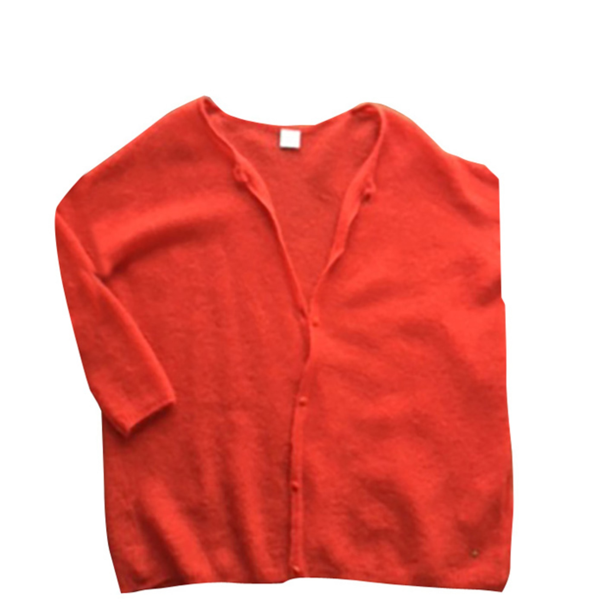 Gilet, cardigan DES PETITS HAUTS Orange