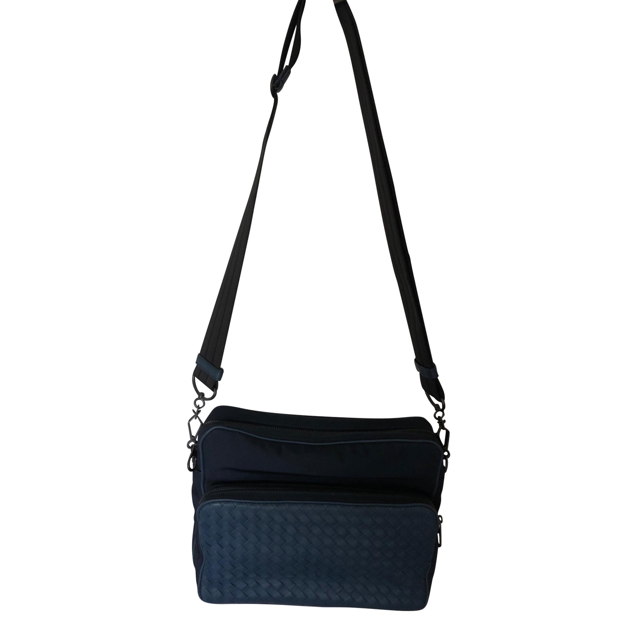 Schulter-Handtasche BOTTEGA VENETA Blau, marineblau, türkisblau