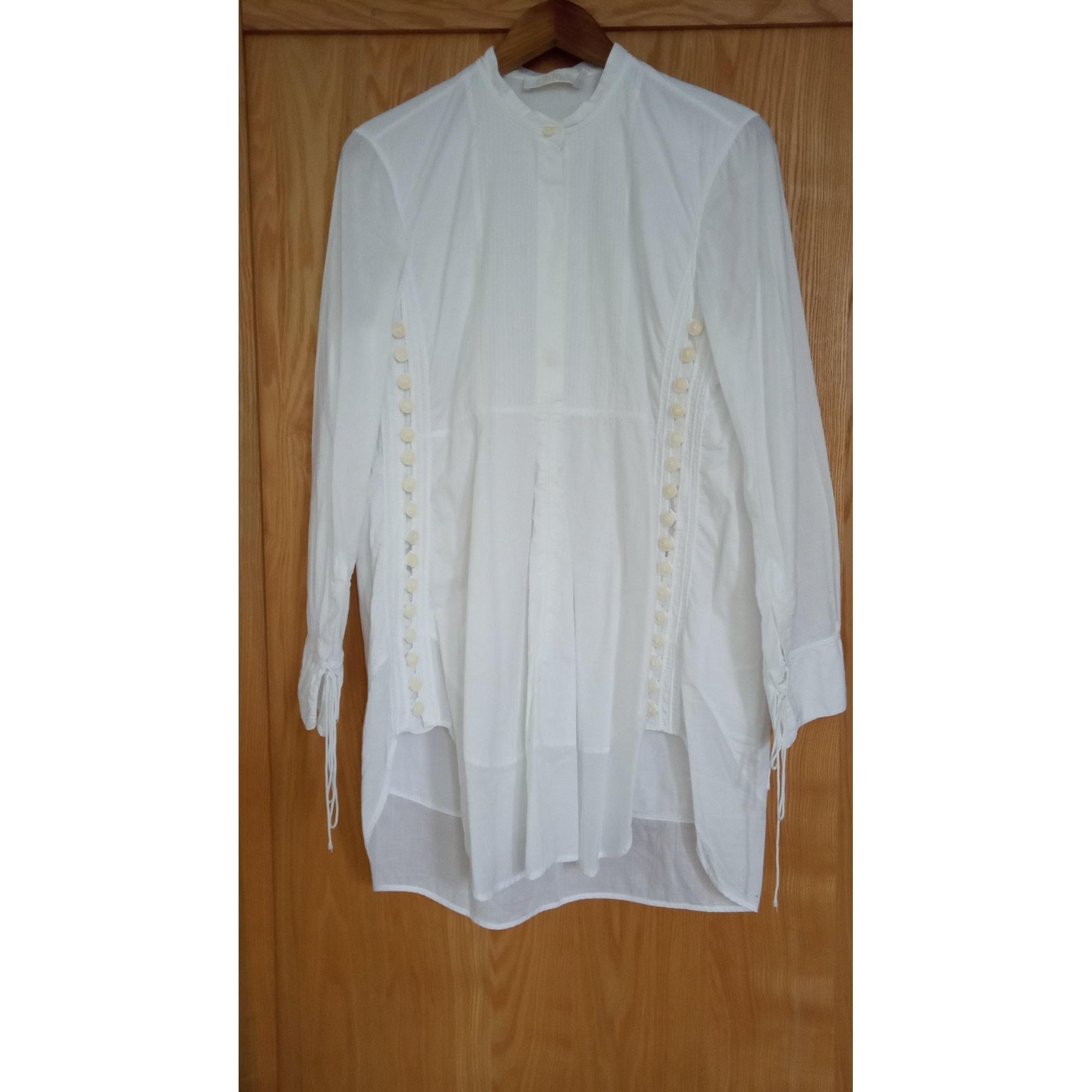 Robe tunique CHLOÉ Blanc, blanc cassé, écru