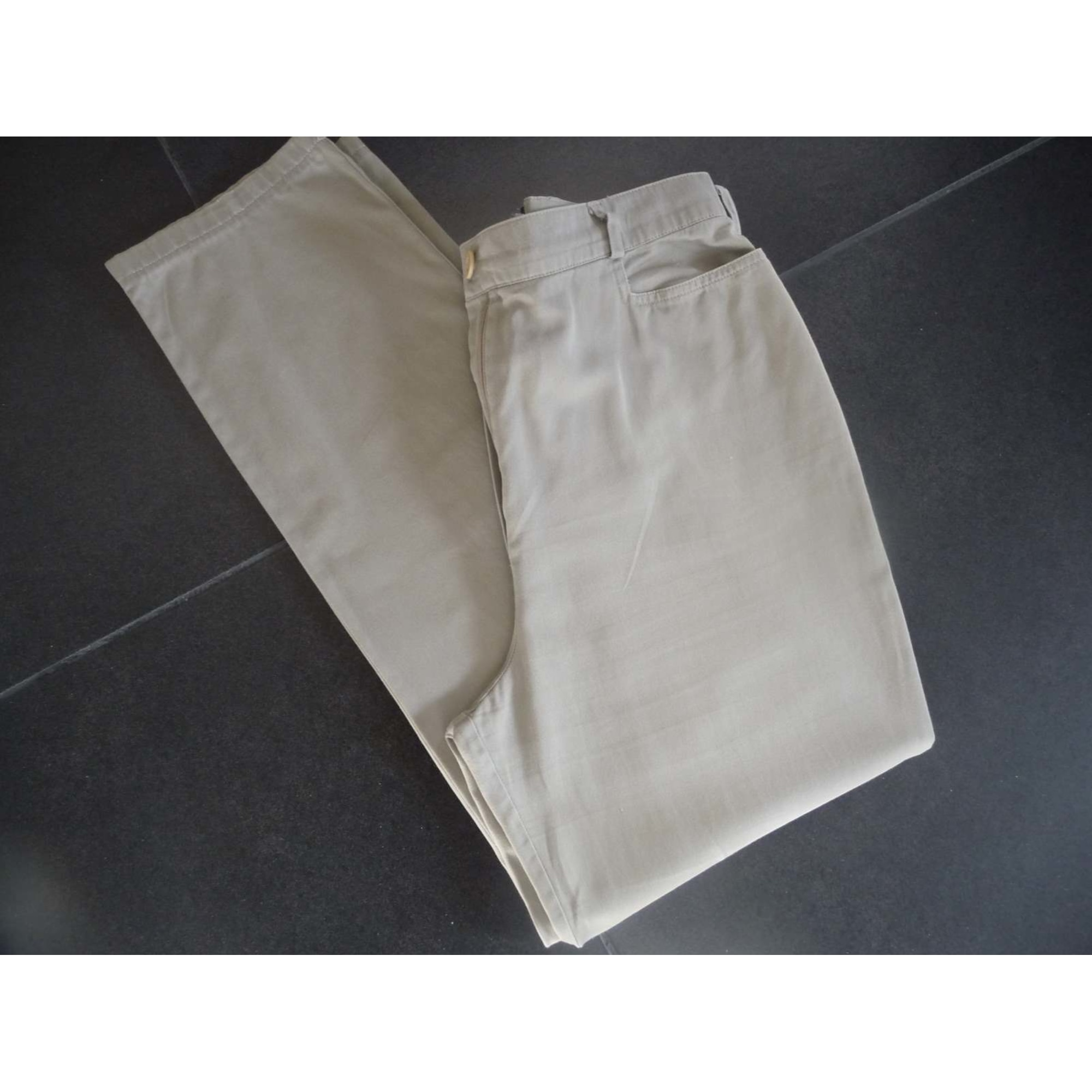 Pantalon carotte GIVENCHY Kaki