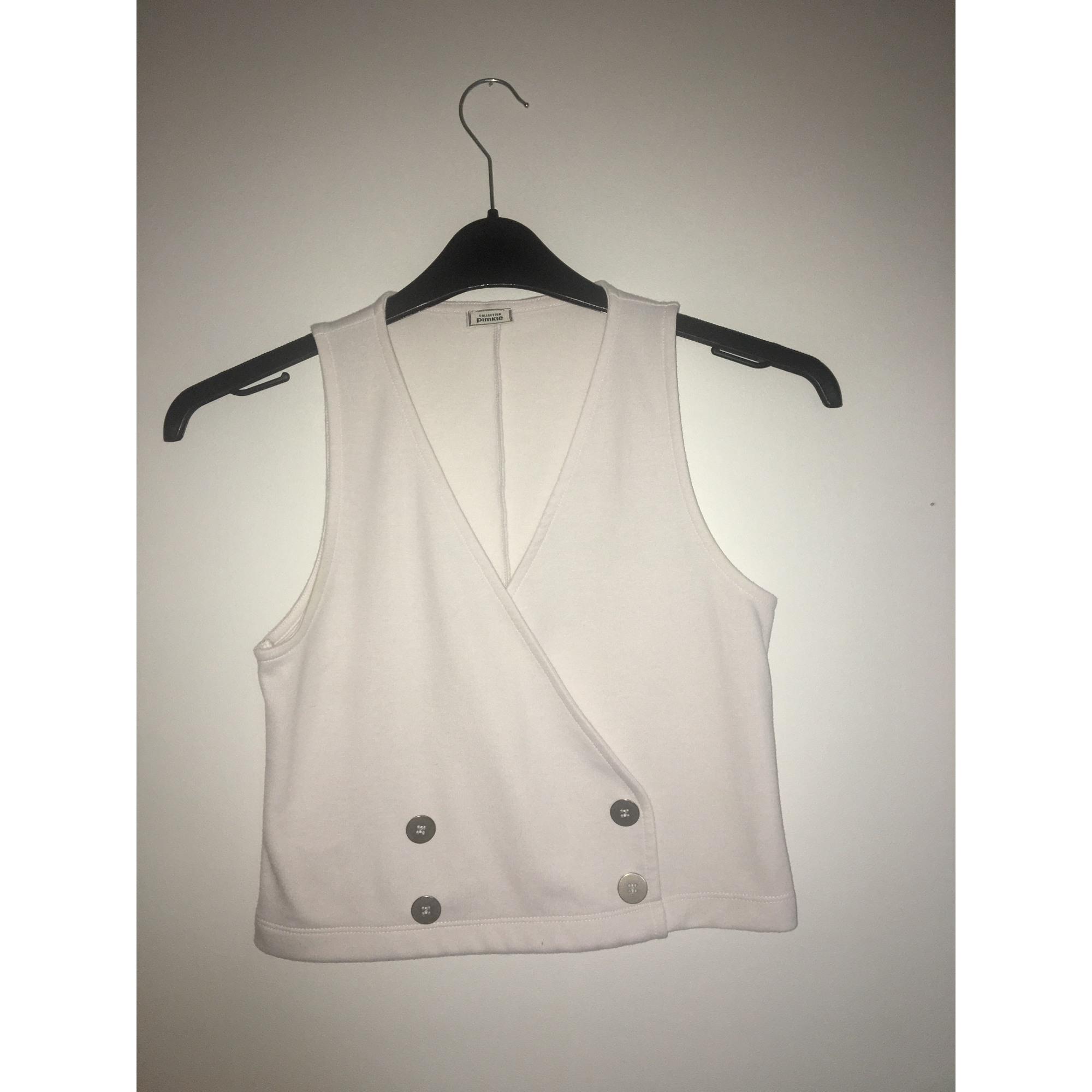 Top, tee-shirt PIMKIE Blanc, blanc cassé, écru