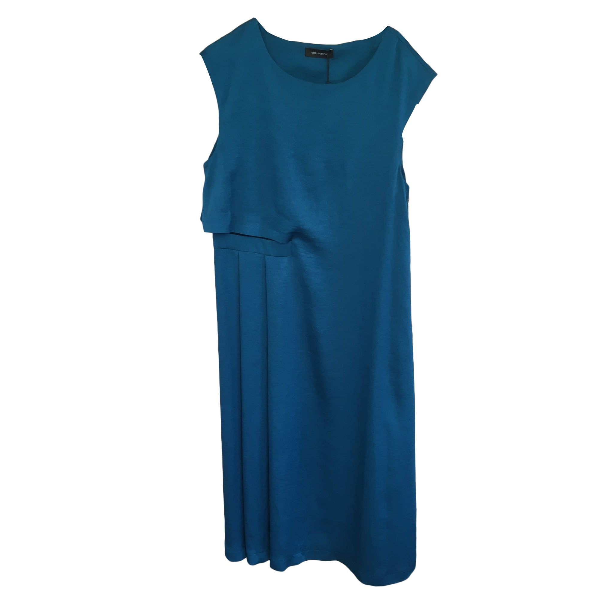 Robe longue COP-COPINE Bleu, bleu marine, bleu turquoise