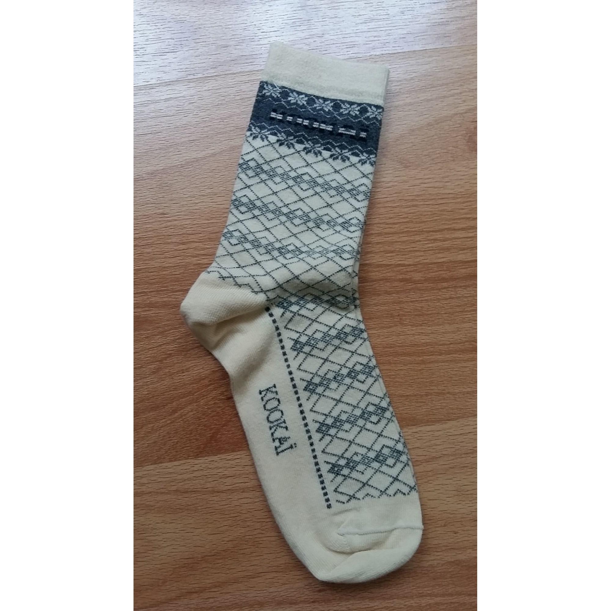 Mi-chausettes KOOKAI Blanc, blanc cassé, écru