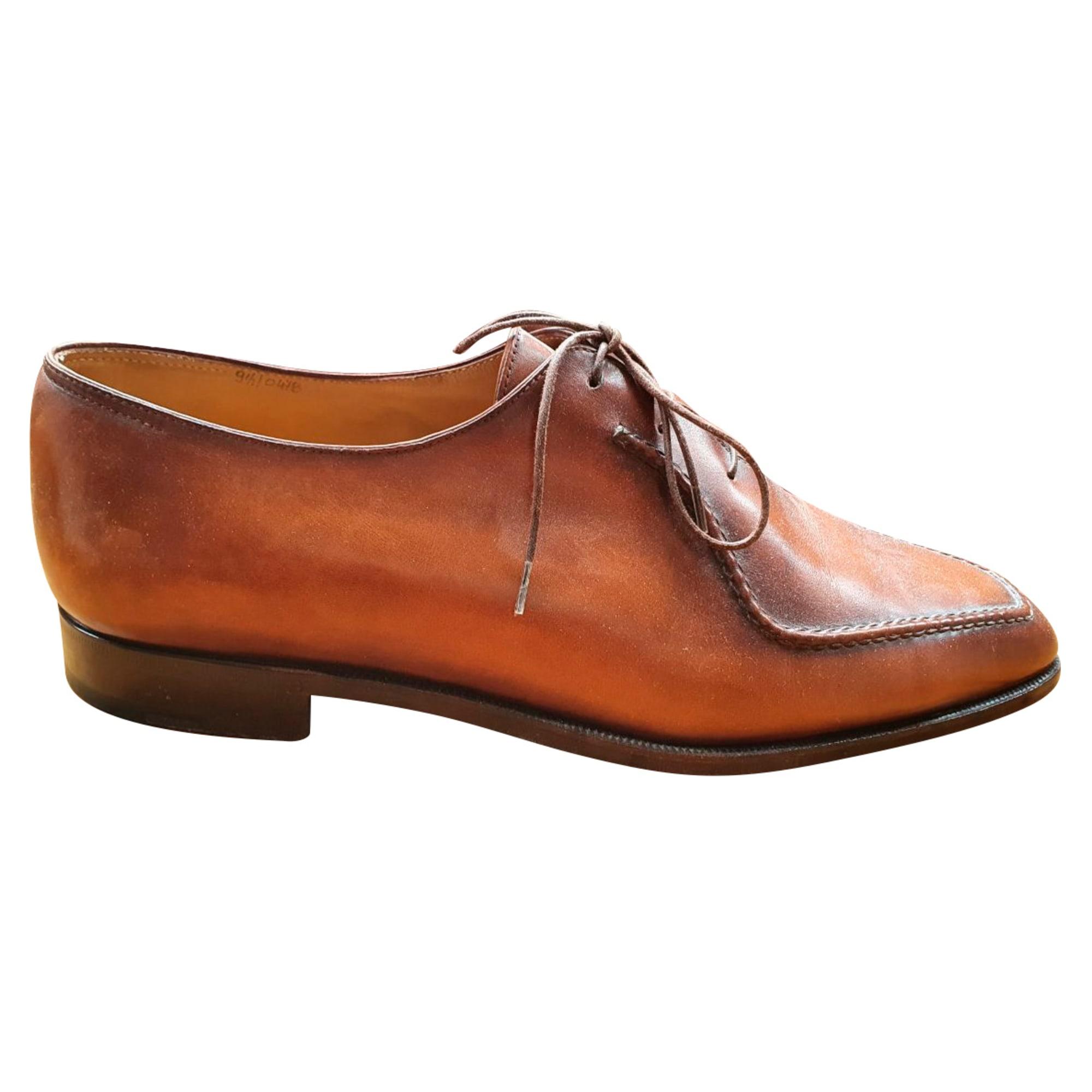 Chaussures à lacets BERLUTI Marron