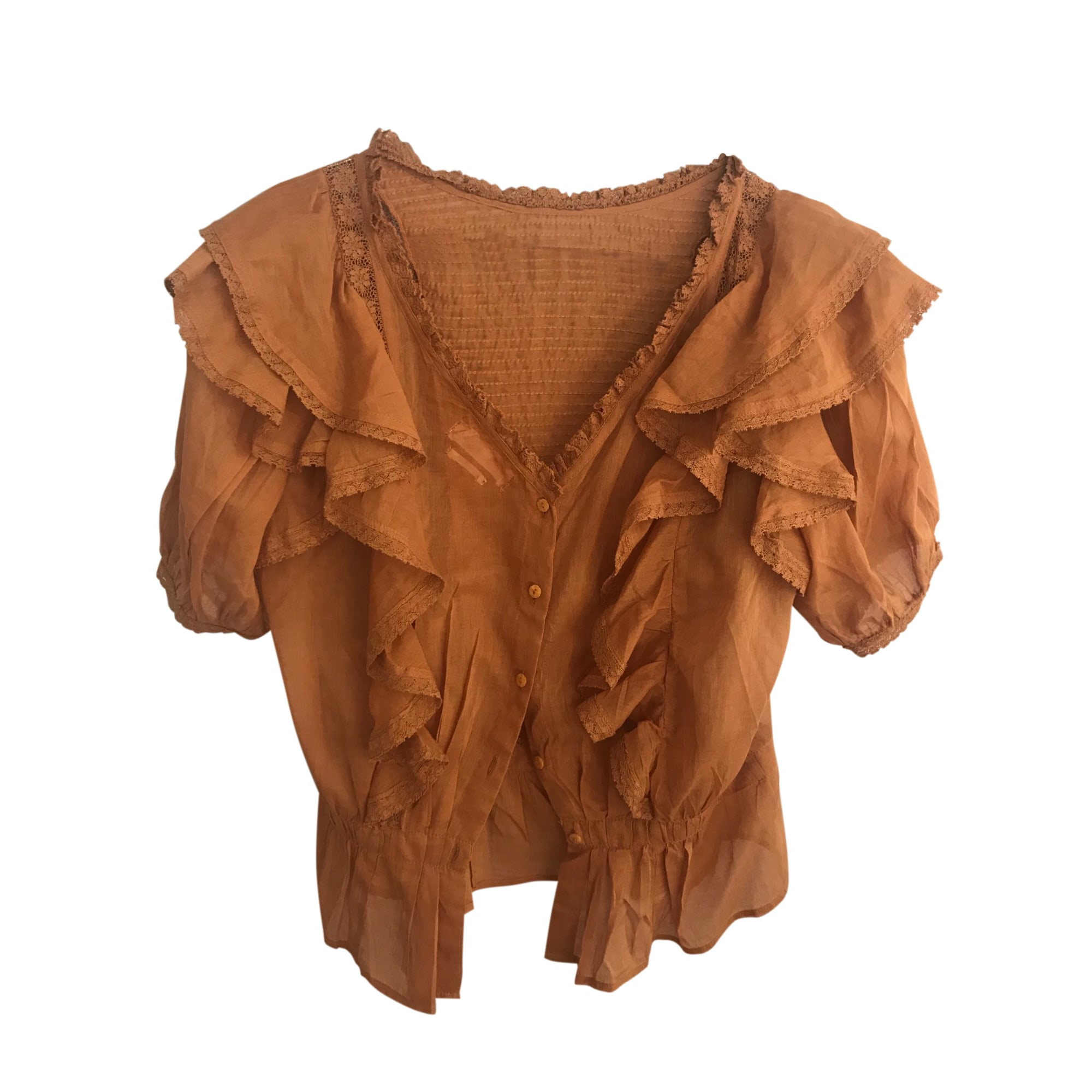 Blouse ISABEL MARANT Orange