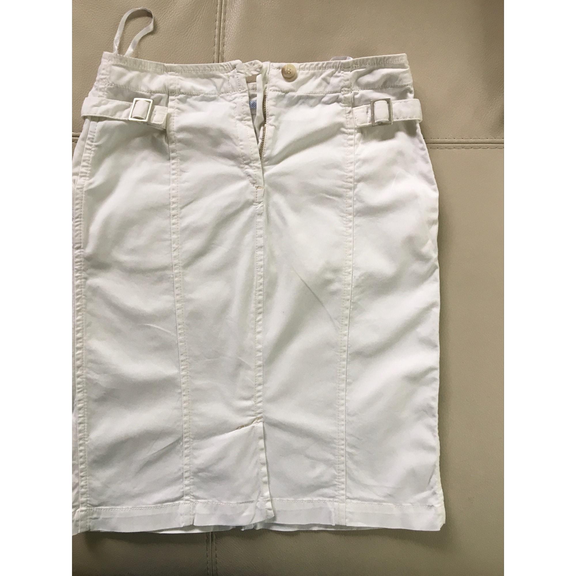 Jupe mi-longue NEW MAN Blanc, blanc cassé, écru
