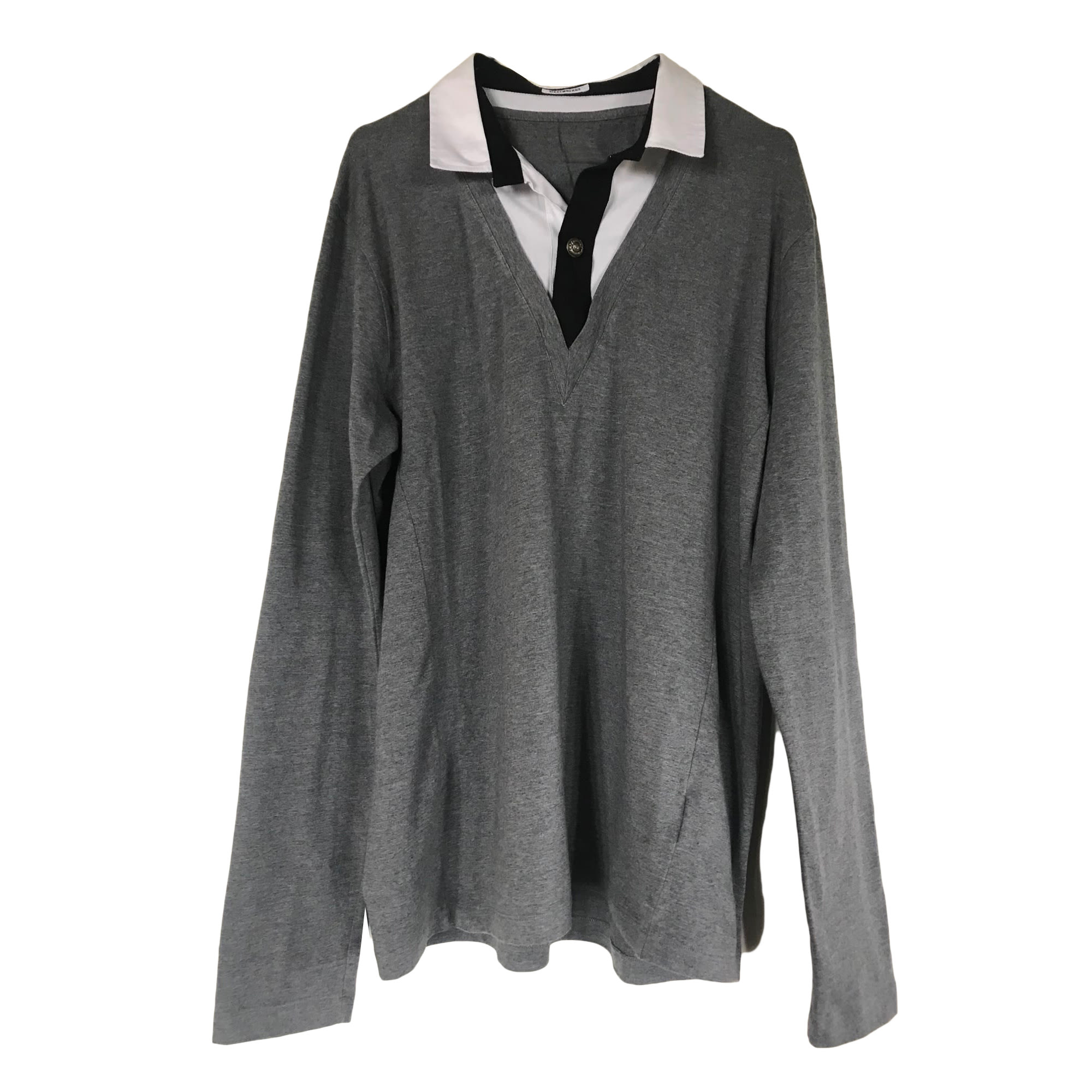 Polo DIRK BIKKEMBERGS Gris, anthracite