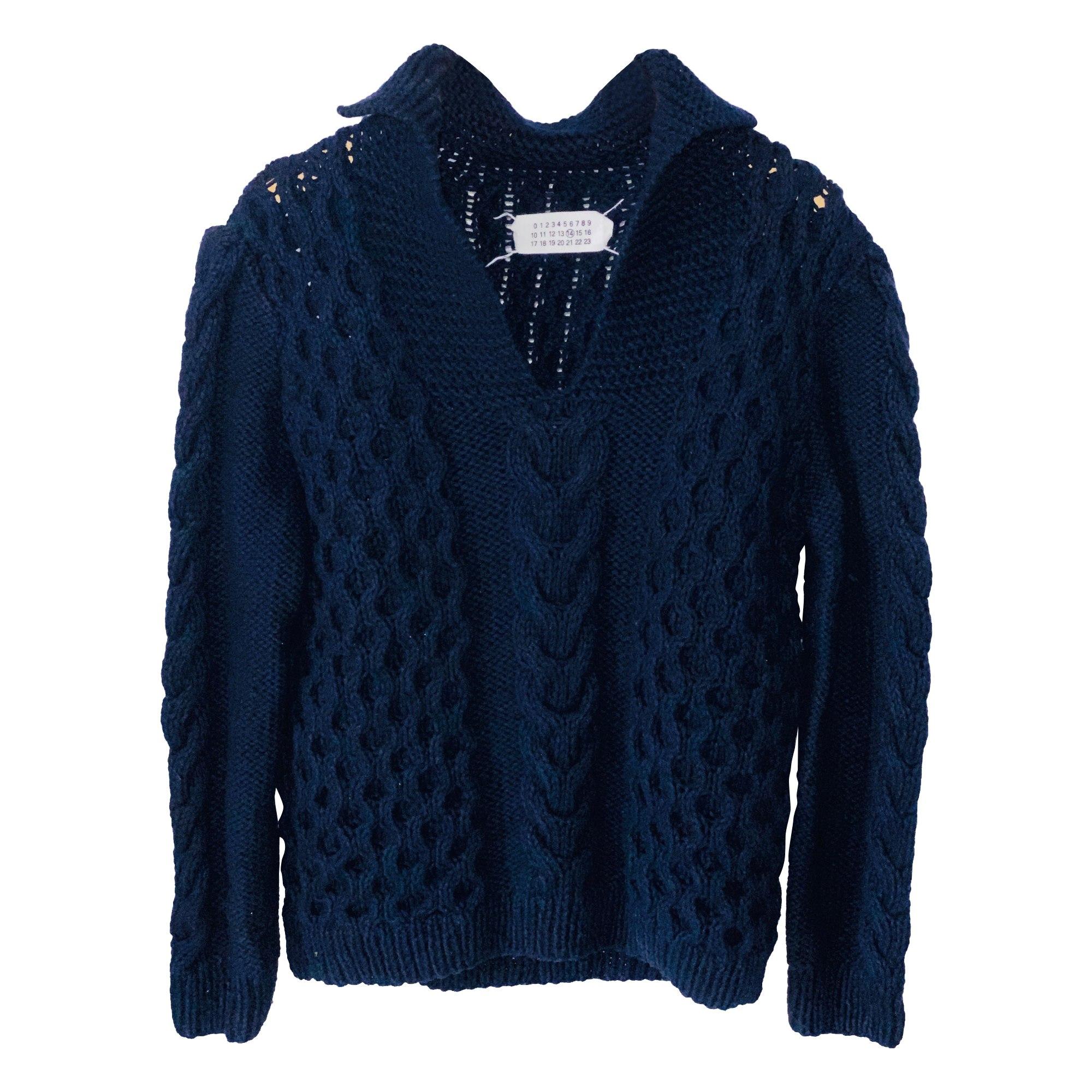 Pull MAISON MARTIN MARGIELA Bleu, bleu marine, bleu turquoise
