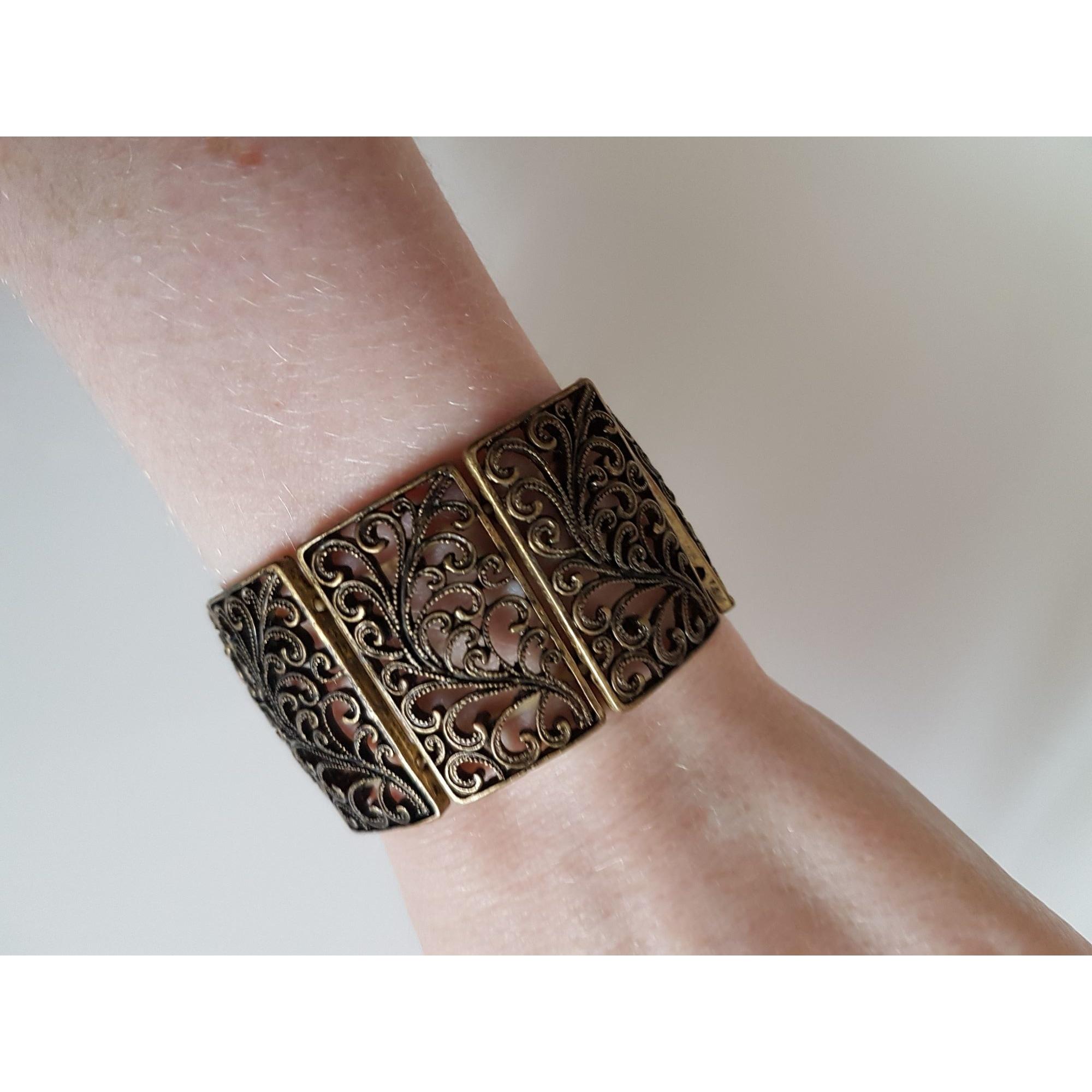 Bracelet CAMAIEU Doré, bronze, cuivre