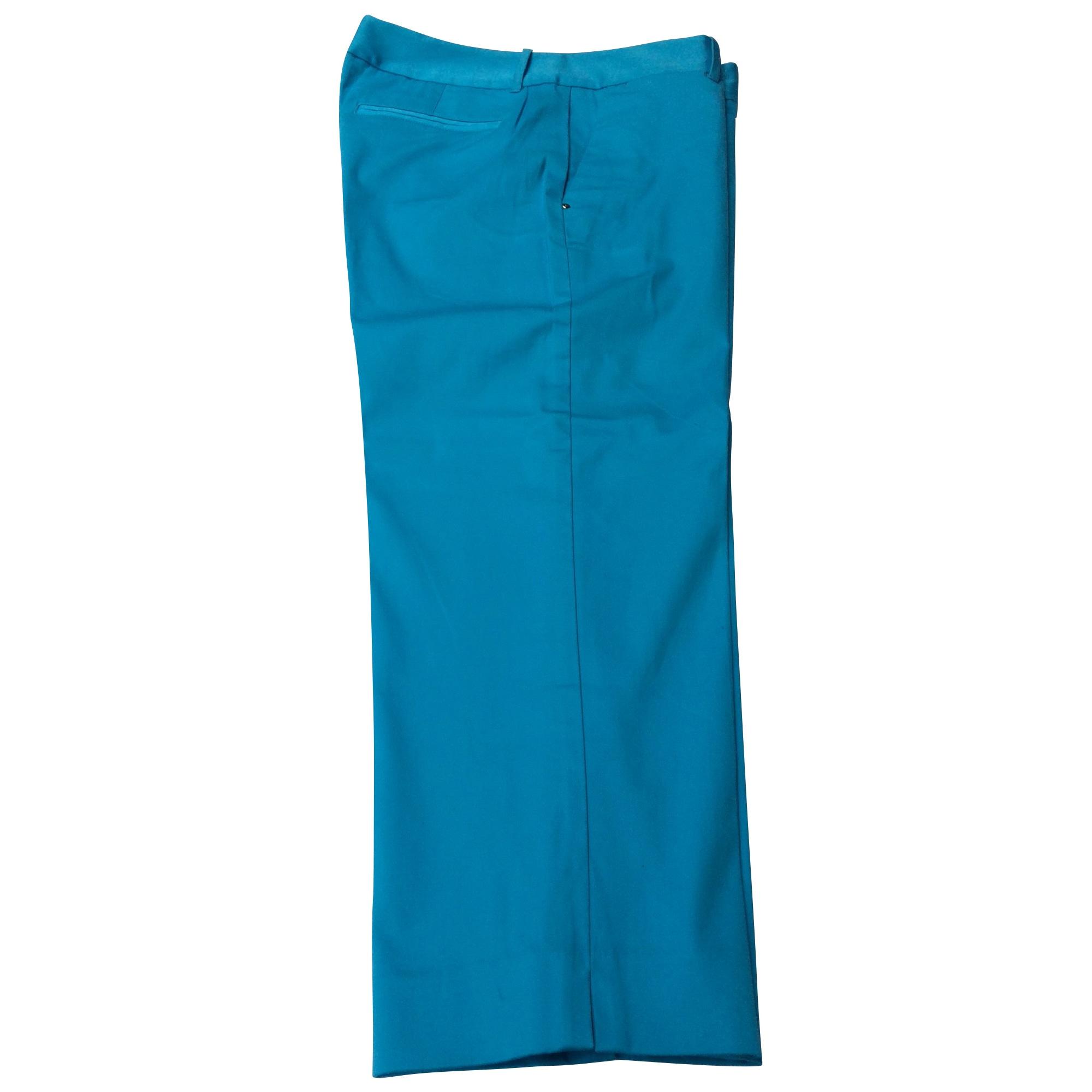 Pantalon droit RALPH LAUREN Bleu, bleu marine, bleu turquoise