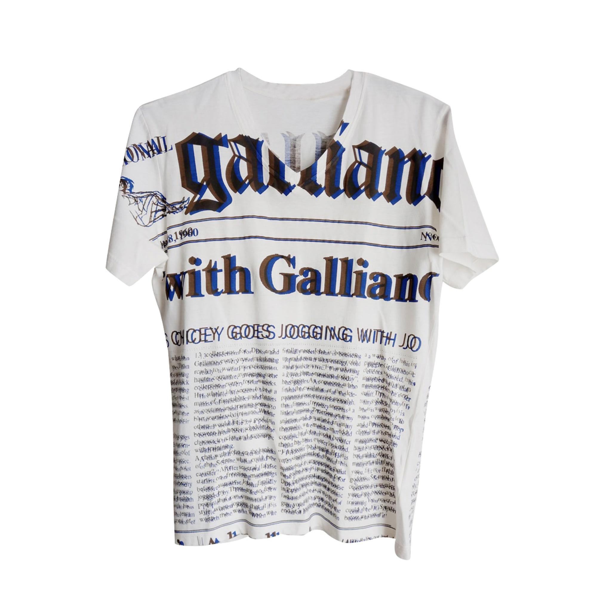 Tee-shirt JOHN GALLIANO Beige, camel